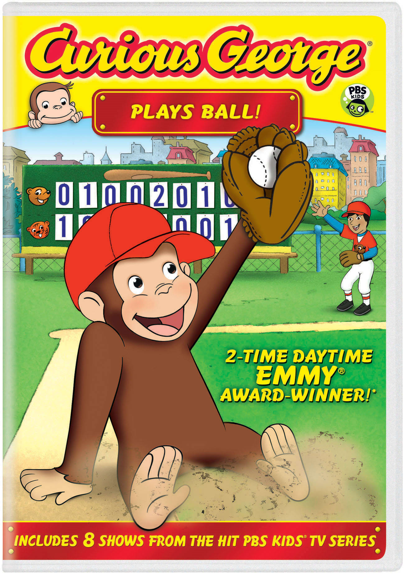 Curious George: Plays Ball! [DVD]