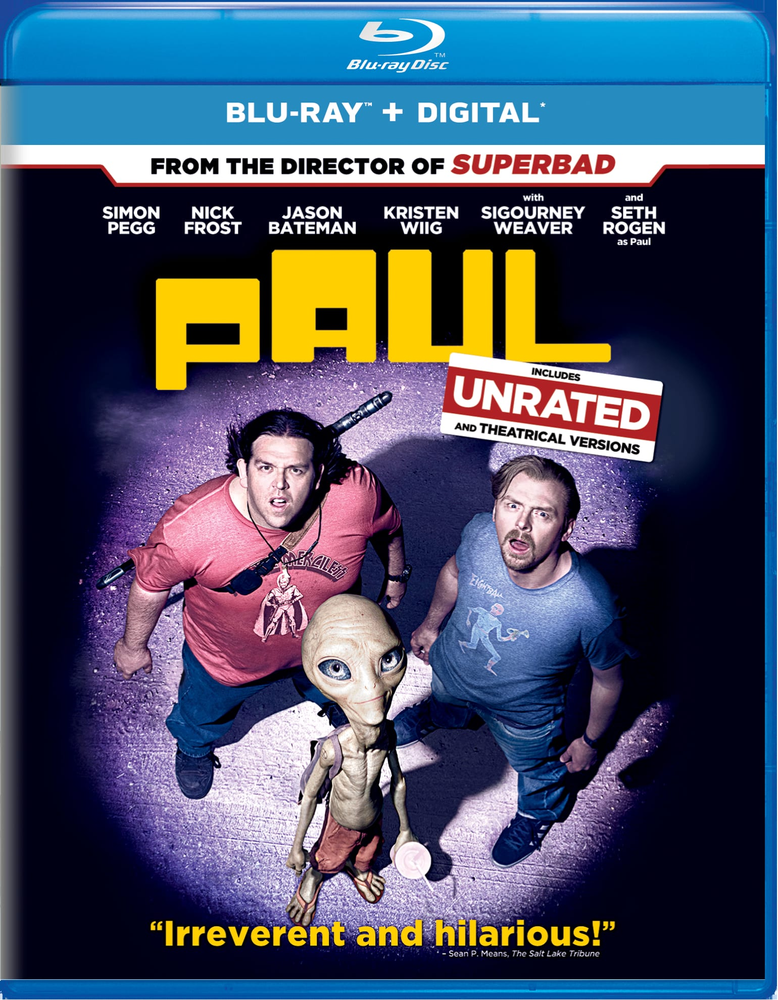 Paul (Digital) [Blu-ray]