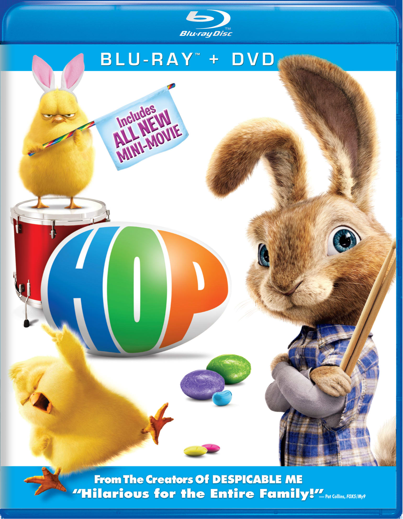 Hop (DVD + Digital) [Blu-ray]