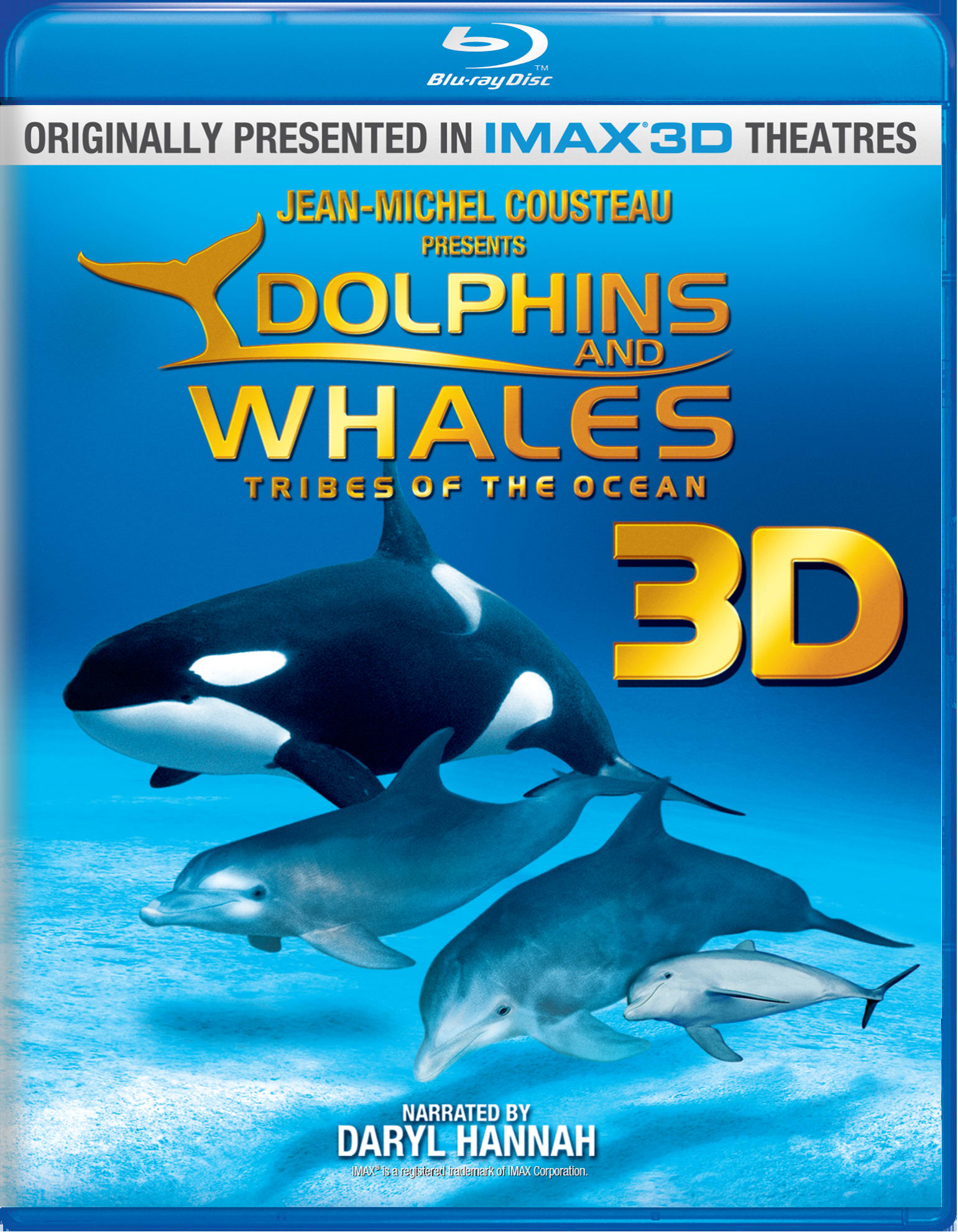 Dolphins and Whales 3D - Tribes of the Ocean [Blu-ray]