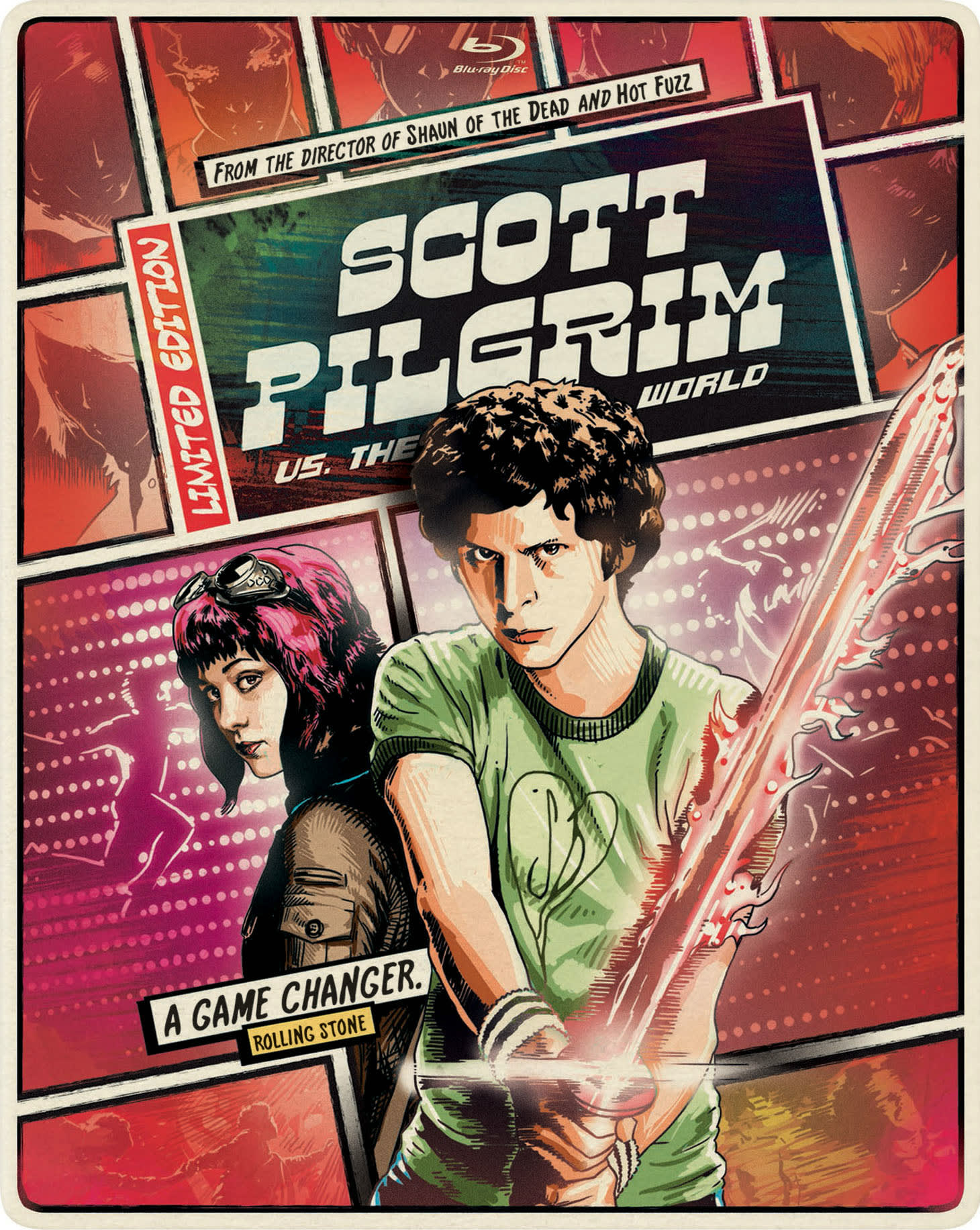Scott Pilgrim Vs. The World (Limited Edition Steelbook) [Blu-ray]