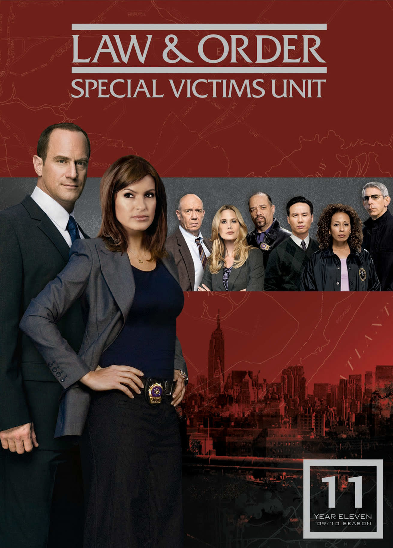 Law and Order - Special Victims Unit: Season 11 [DVD]
