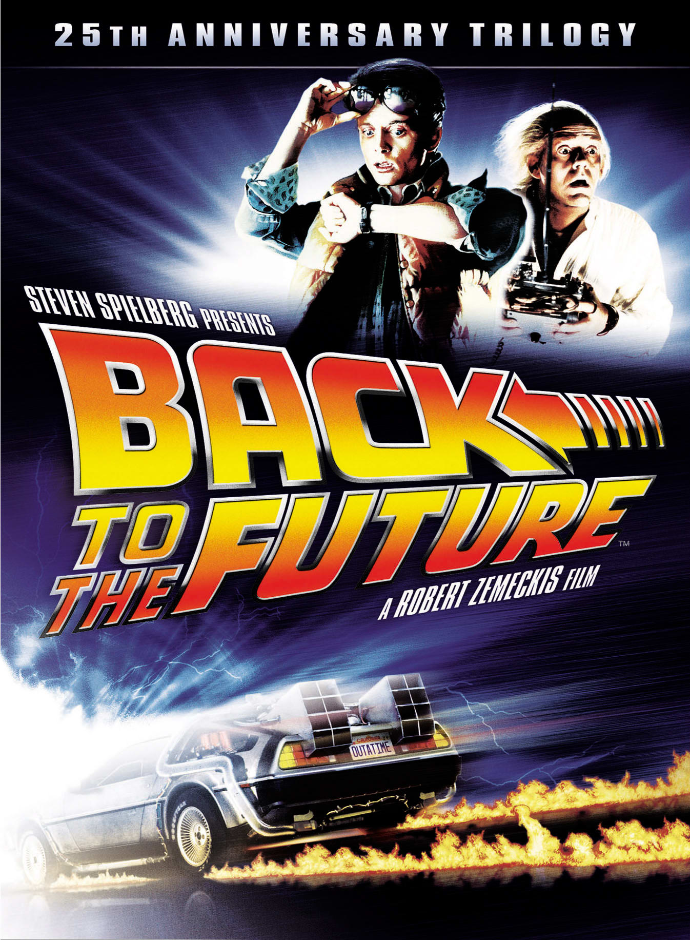 Back to the Future Trilogy (25th Anniversary Edition) [DVD]