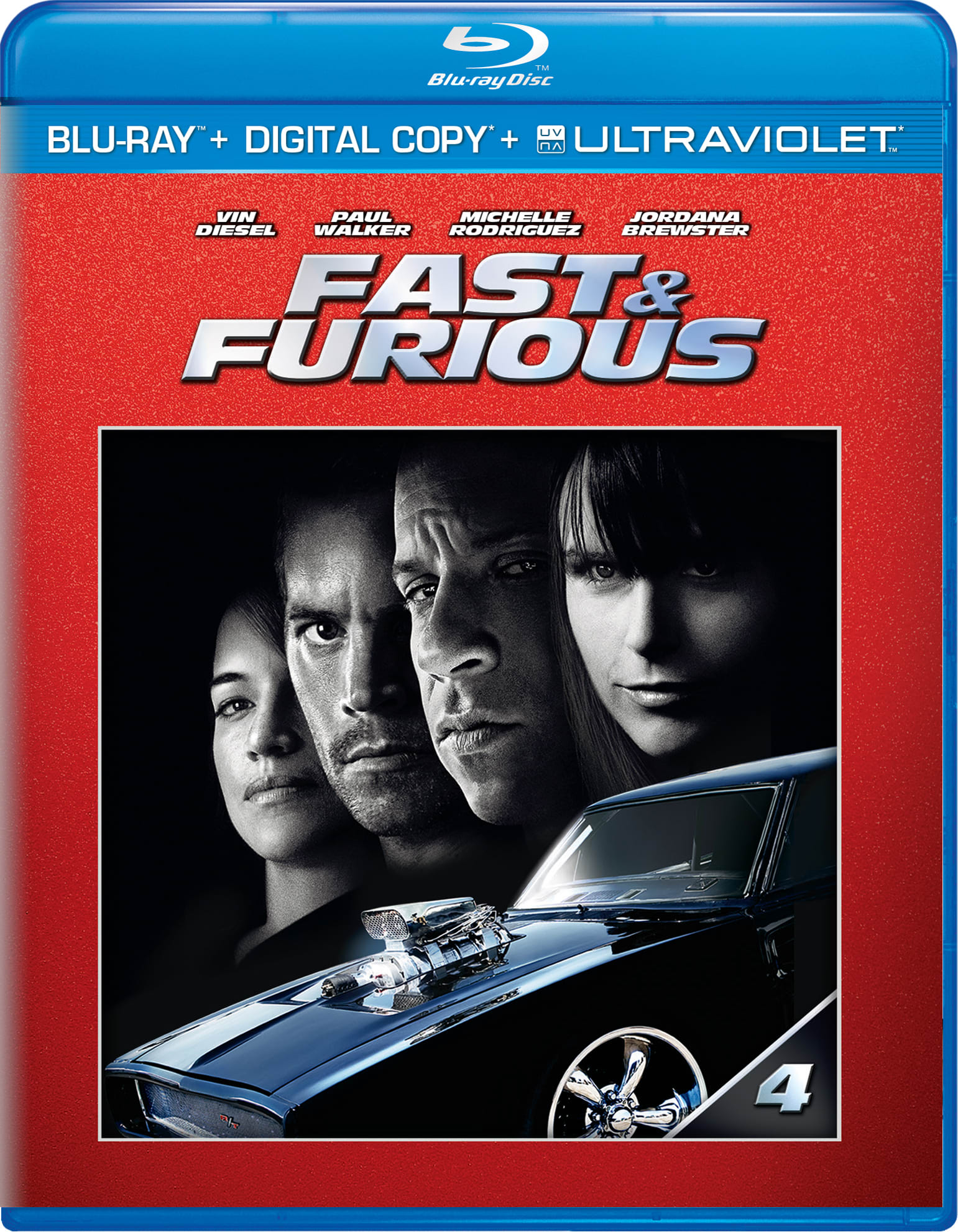 Fast & Furious (Ultraviolet) [Blu-ray]