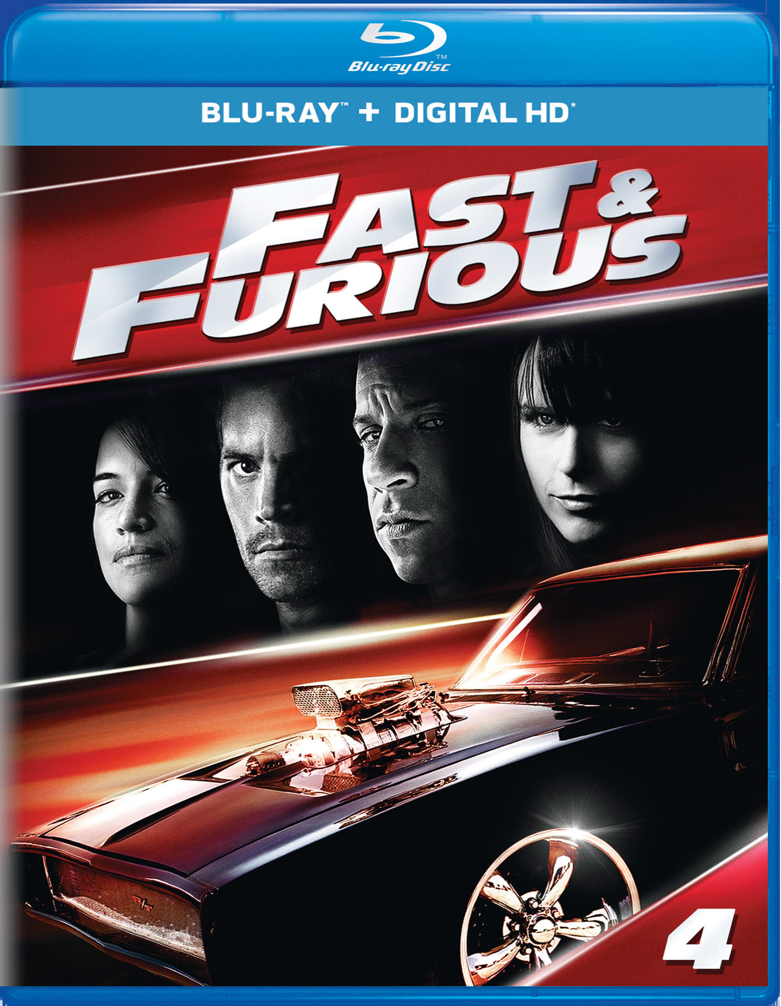 Fast & Furious (Digital) [Blu-ray]