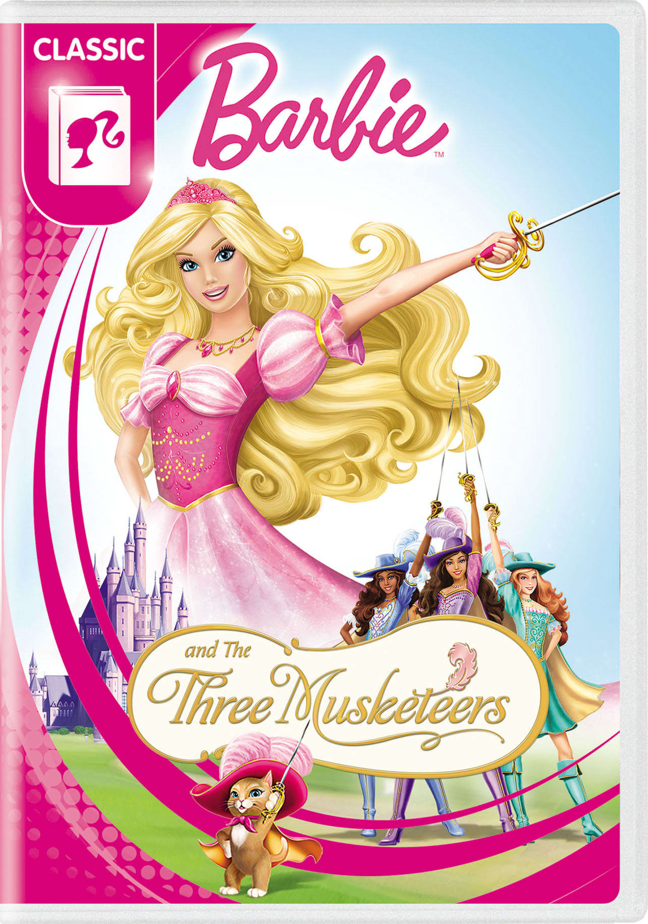 Barbie and the Three Musketeers [DVD]