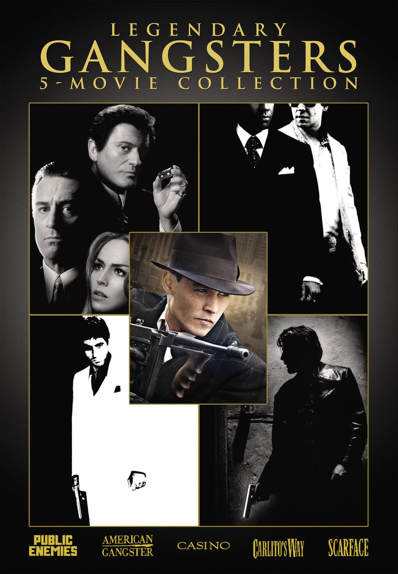 Legendary Gangsters: 5-Movie Collection (2009) [DVD]