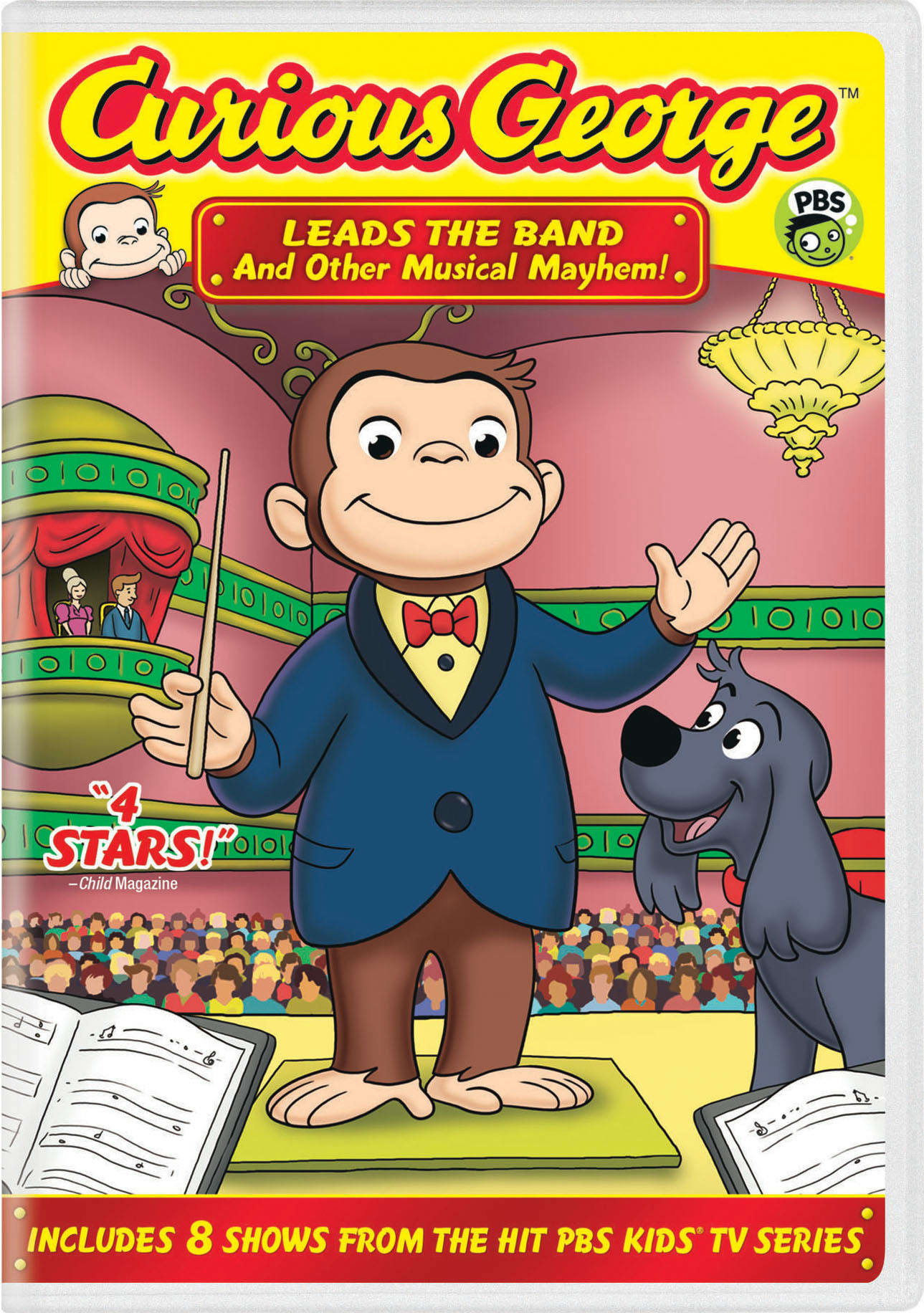 Curious George: Leads the Band and Other Musical Mayhem! [DVD]