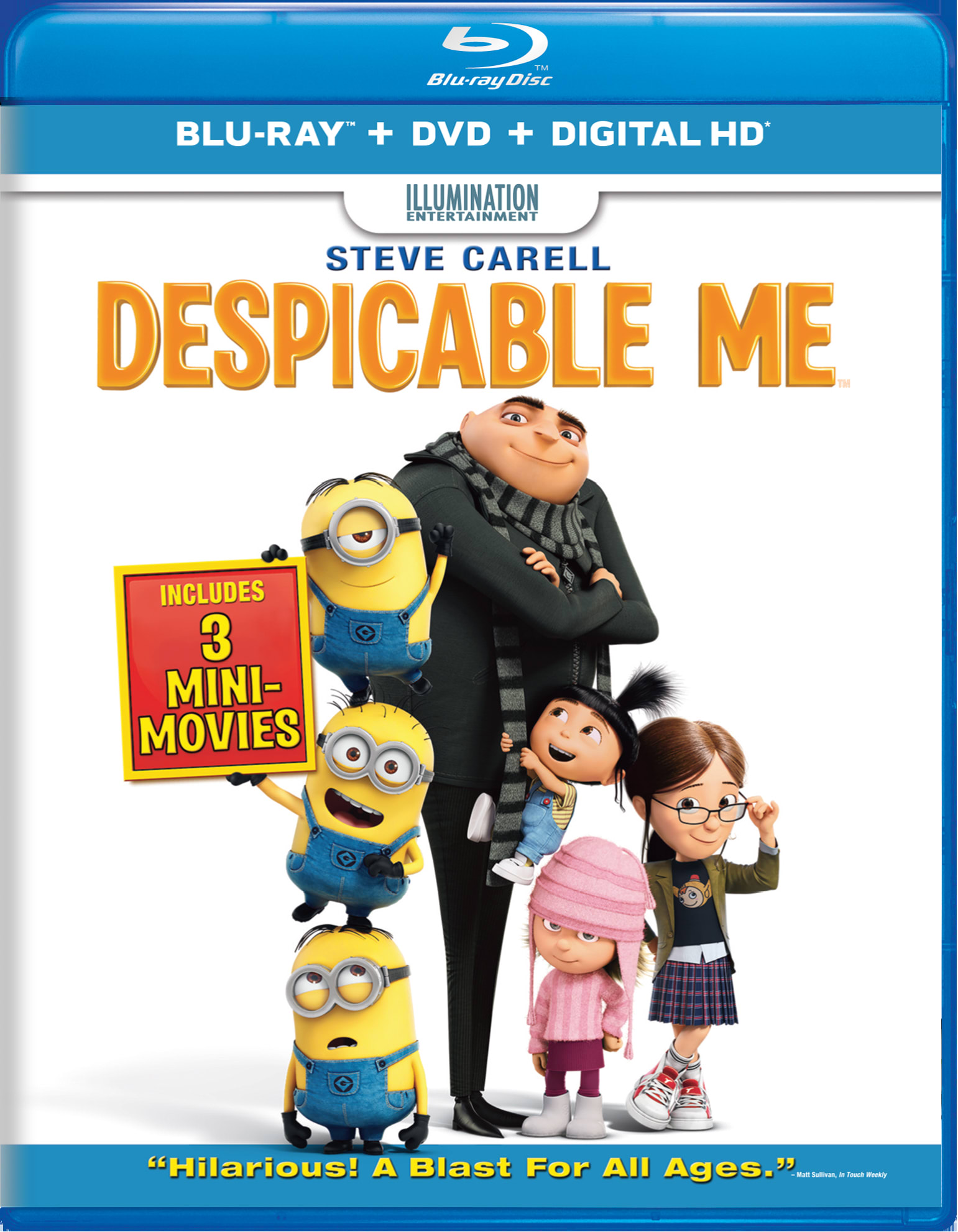 Despicable Me (DVD + Digital) [Blu-ray]
