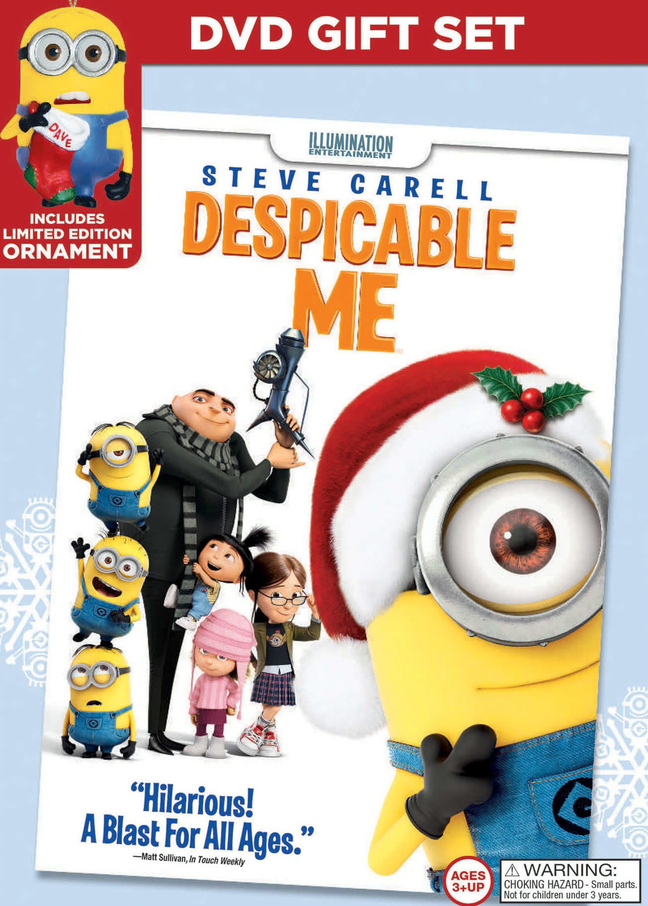 Despicable Me (Limited Edition Ornament Gift Set) [DVD]