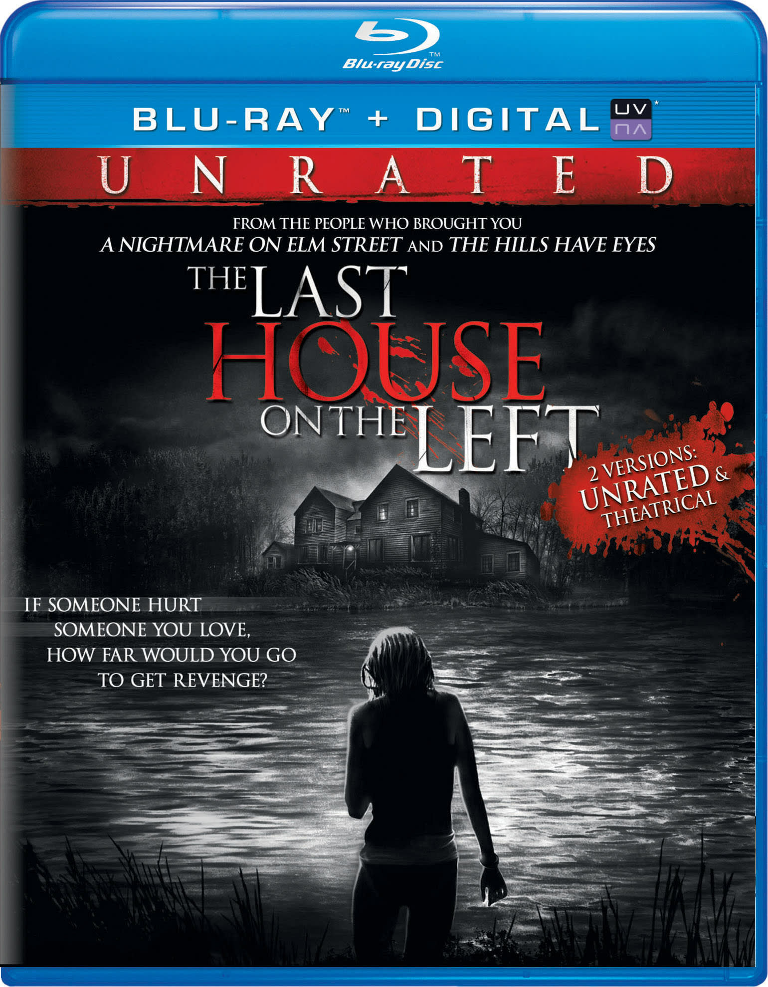 The Last House On the Left (Unrated + Digital + Ultraviolet) [Blu-ray]