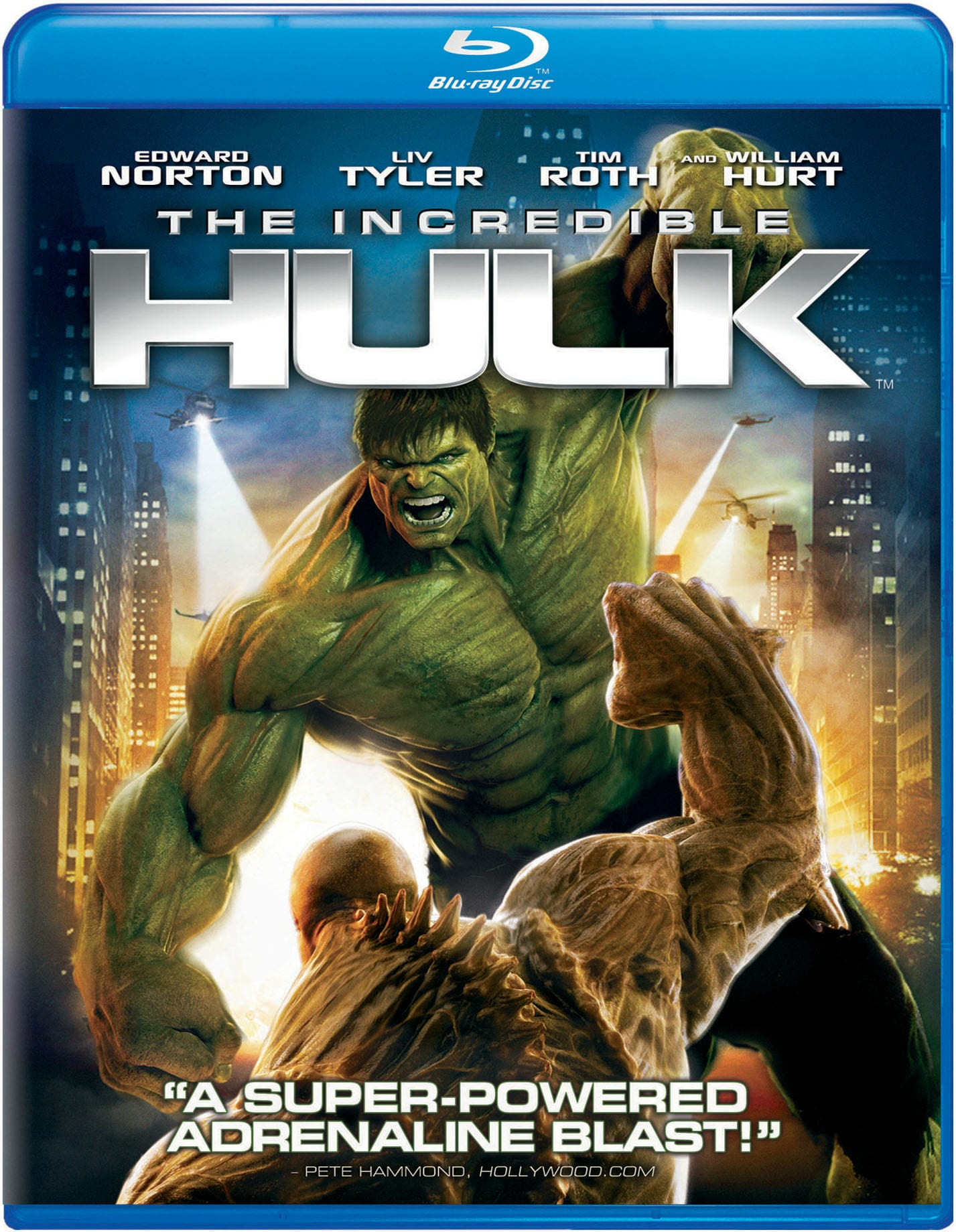 The Incredible Hulk (2012) [Blu-ray]