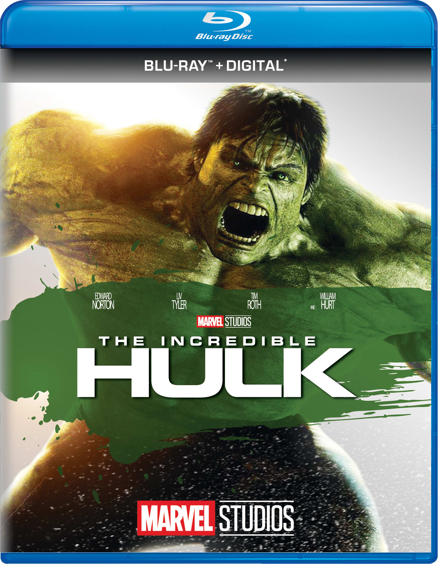 The Incredible Hulk (Digital) [Blu-ray]