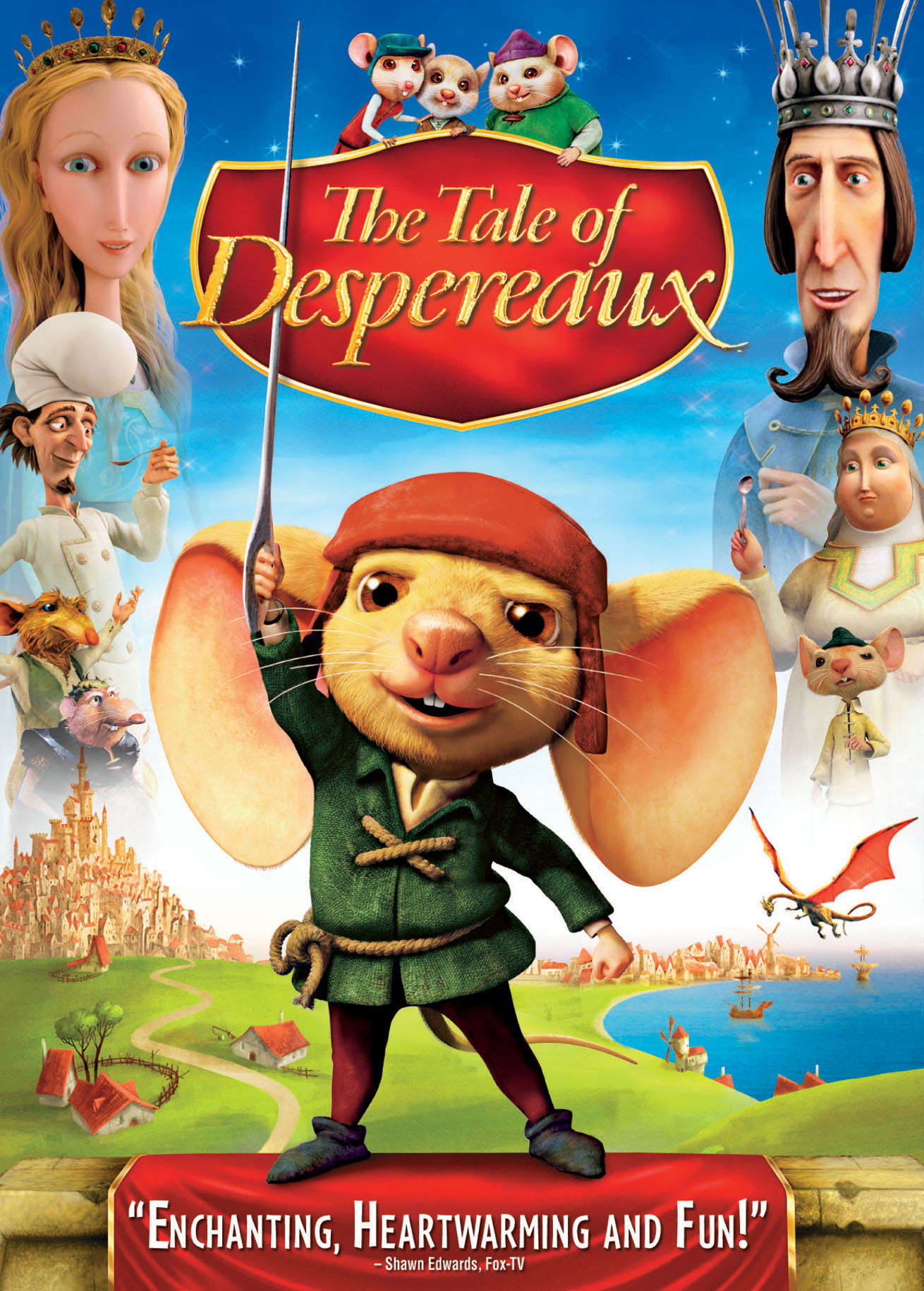 The Tale of Despereaux (2009) [DVD]