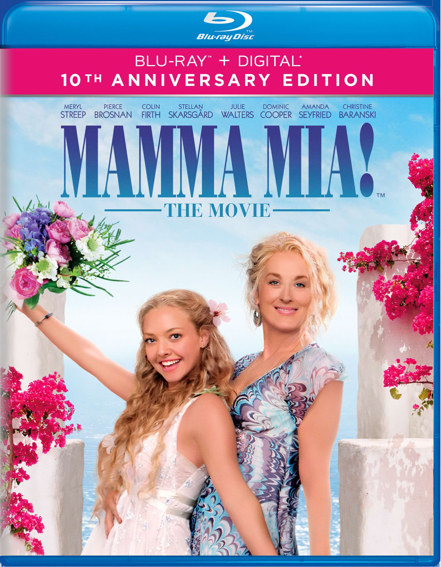 Mamma Mia! (10th Anniversary Edition) [Blu-ray]