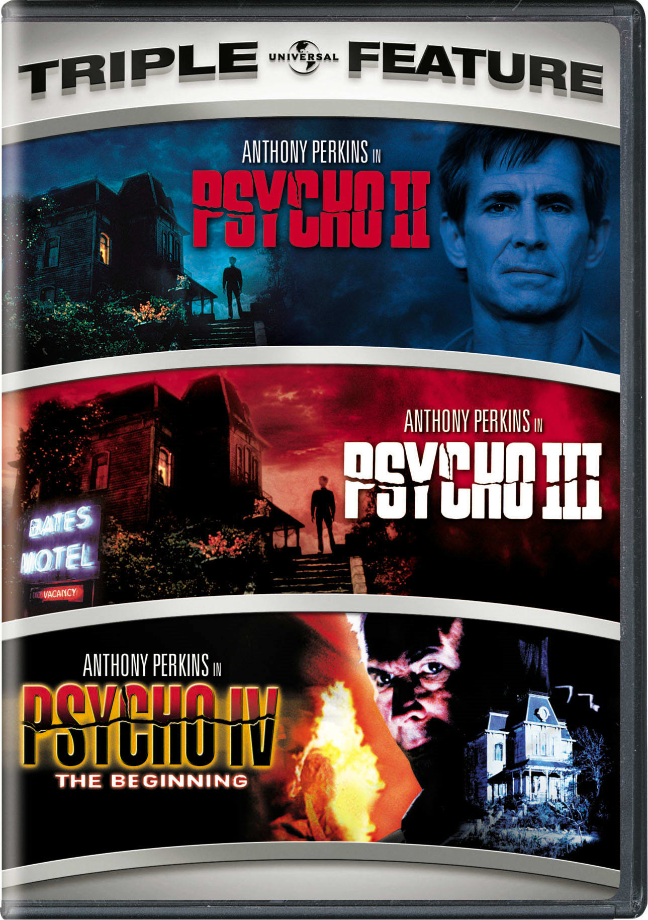 Psycho II/Psycho III/Psycho IV: The Beginning [DVD]