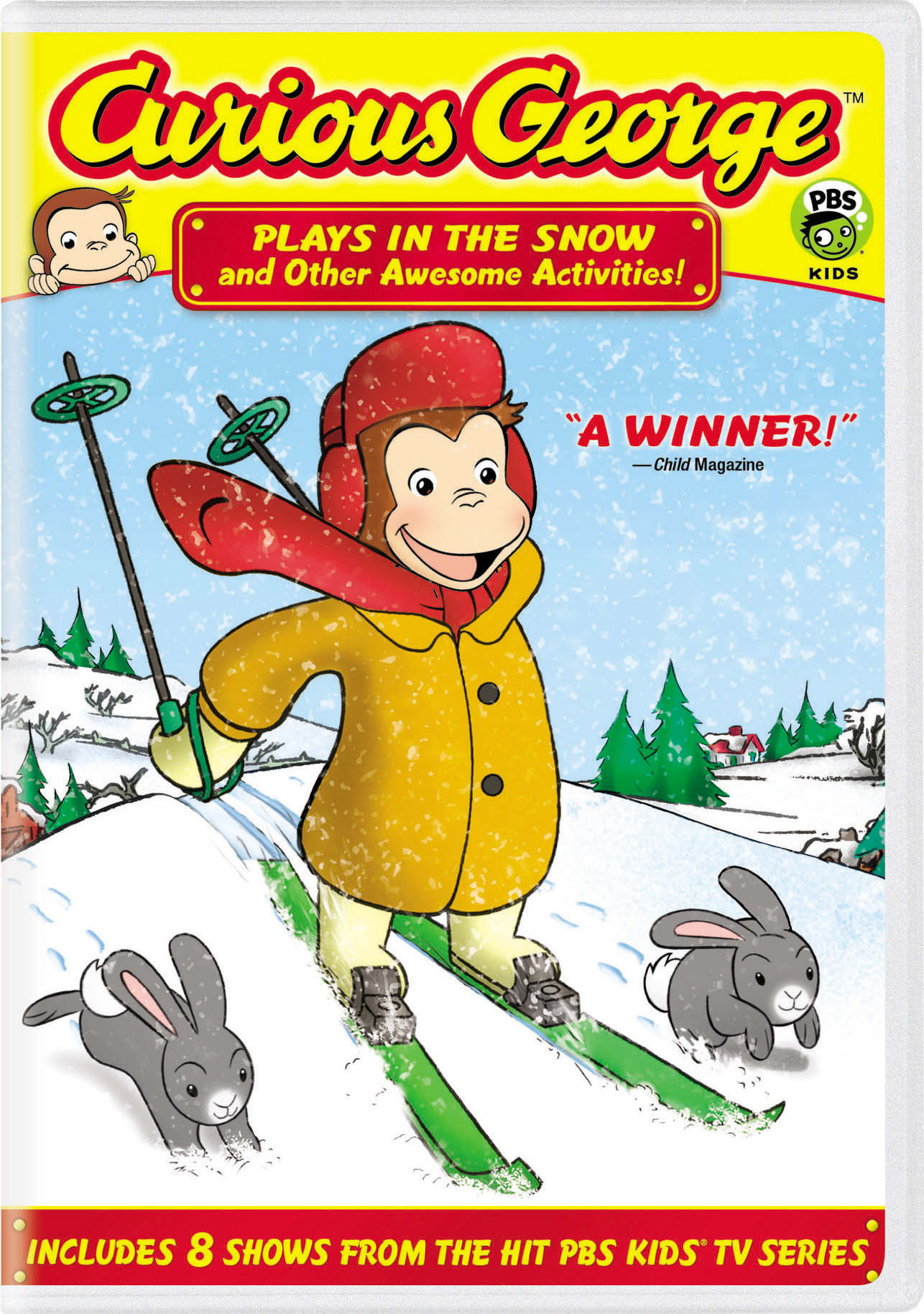 Curious George: Plays in the Snow and Other Awesome Activities! [DVD]