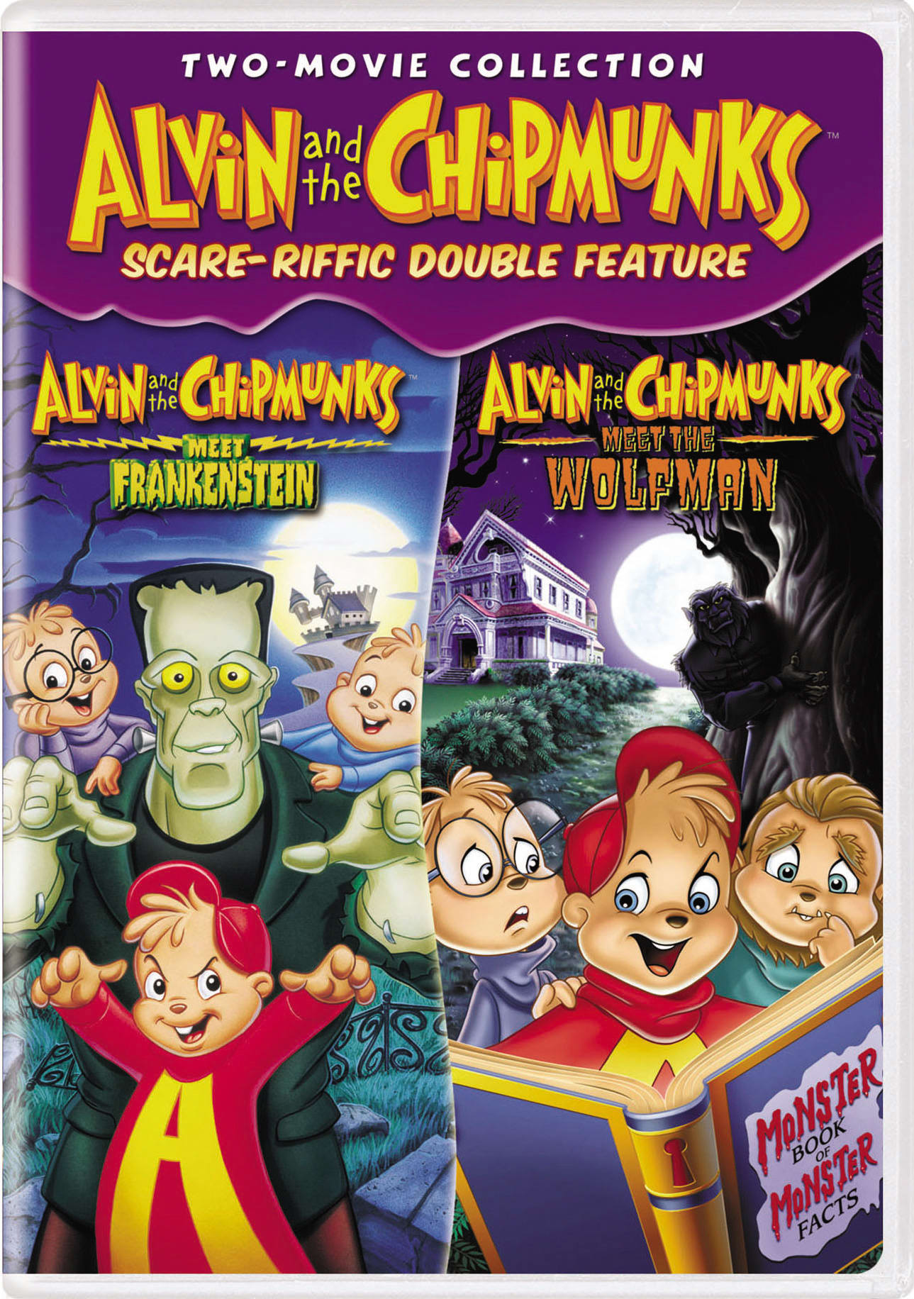 Alvin and the Chipmunks meet Frankenstein/Meet the Wolfman [DVD]