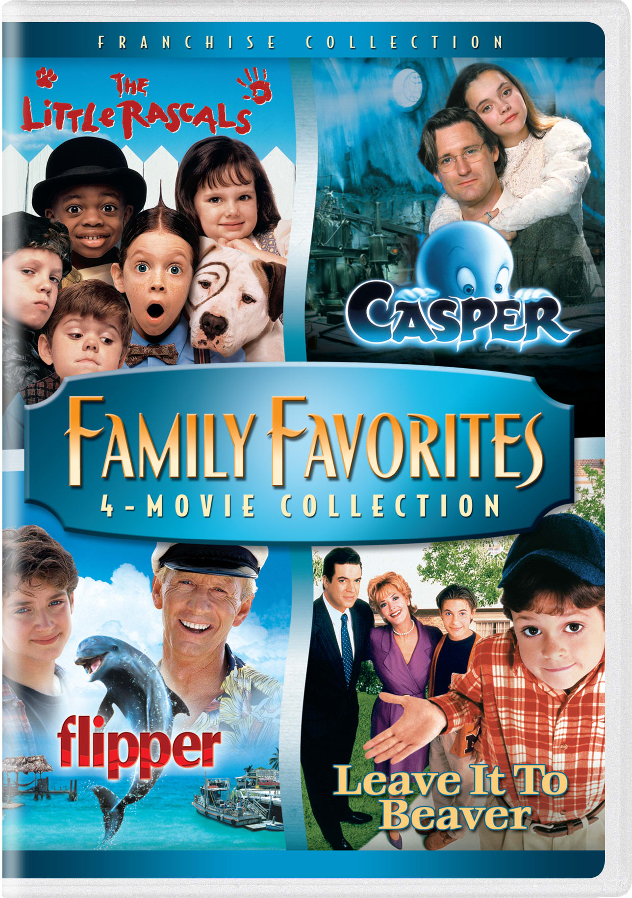 The little rascals/Casper/Flipper/Leave it to Beaver [DVD]