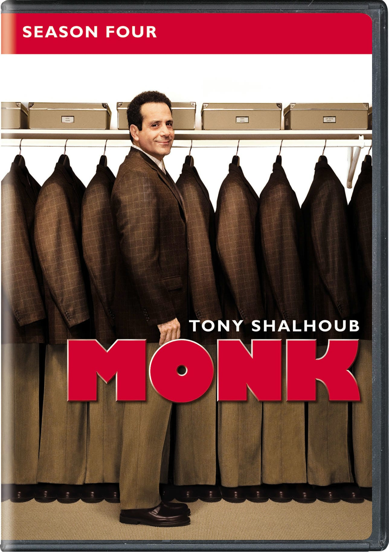 Monk: Season 4 [DVD]