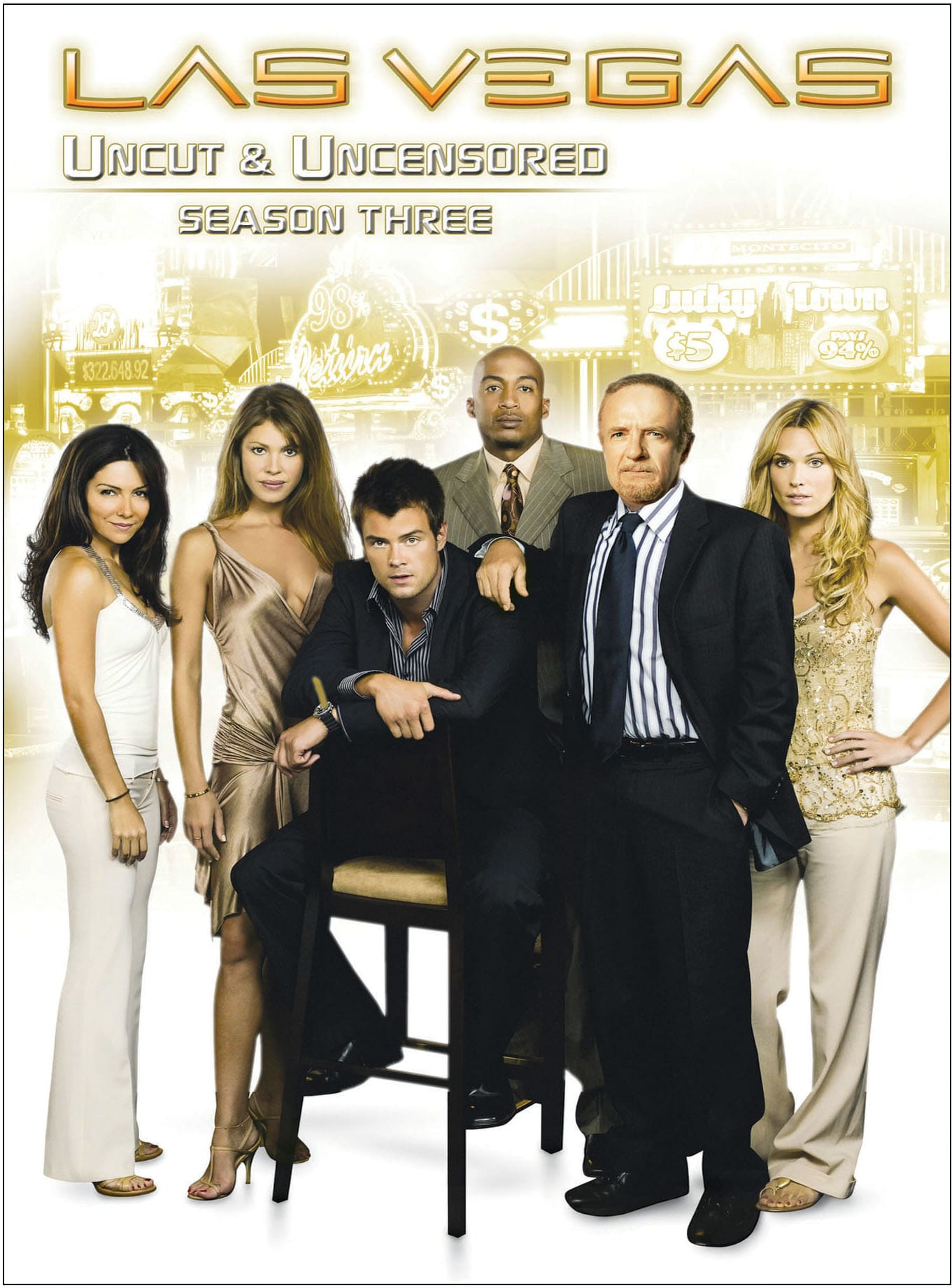 Las Vegas: Season Three (Uncut & Uncensored) [DVD]