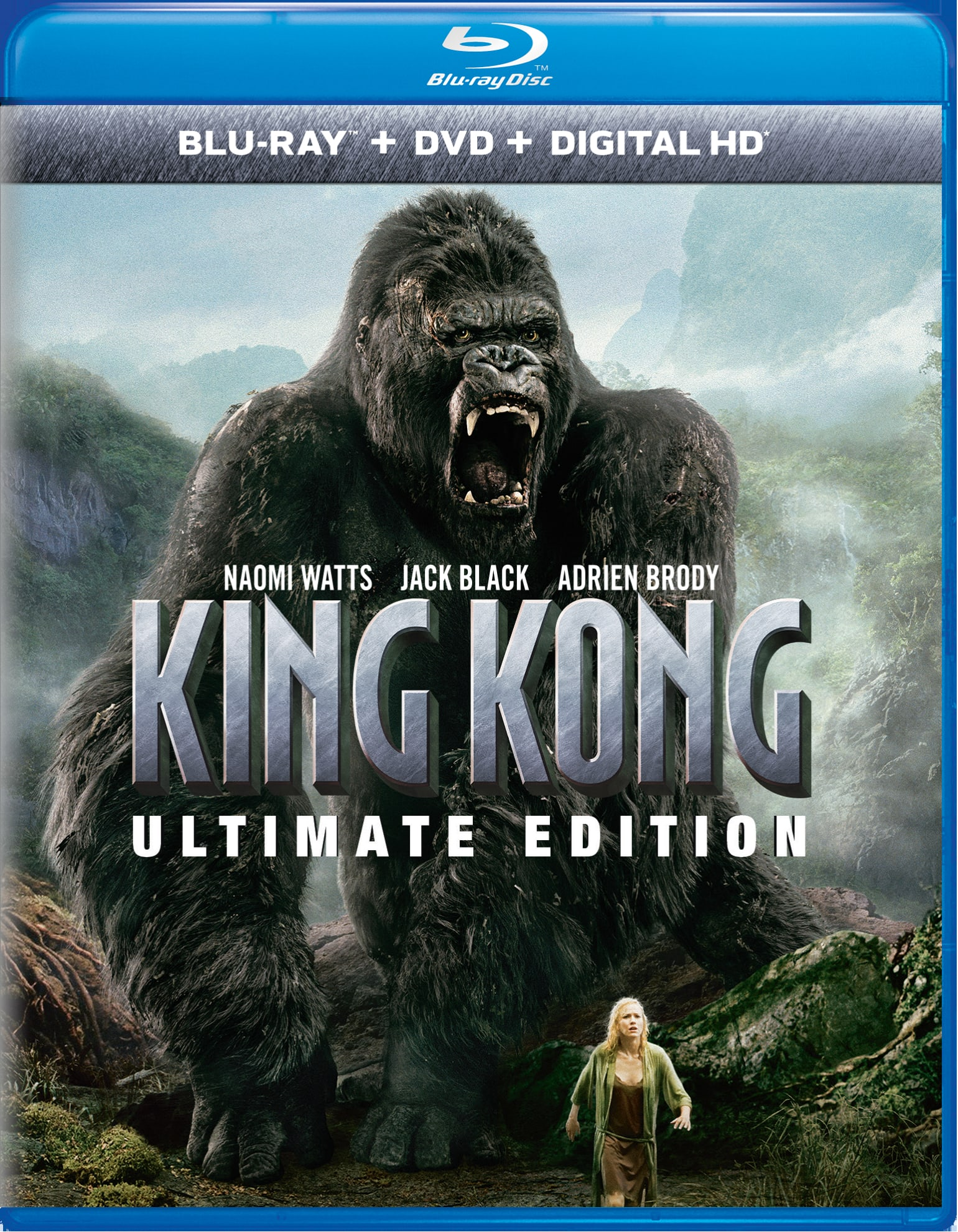 King Kong (Ultimate Edition DVD + Digital) [Blu-ray]