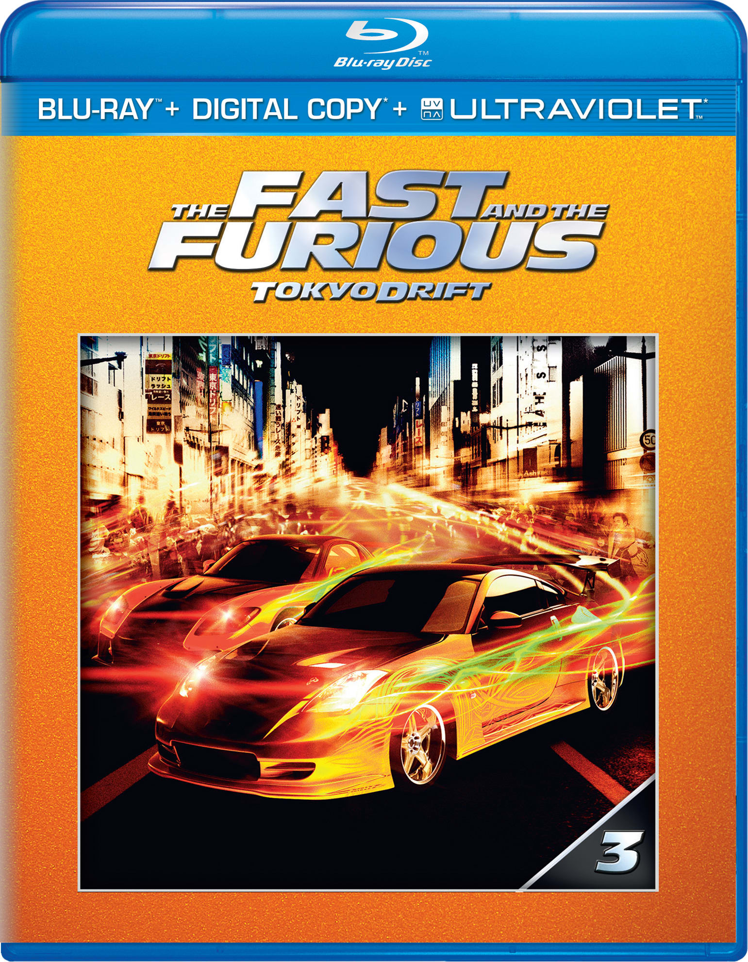The Fast and the Furious: Tokyo Drift (Digital + Ultraviolet) [Blu-ray]