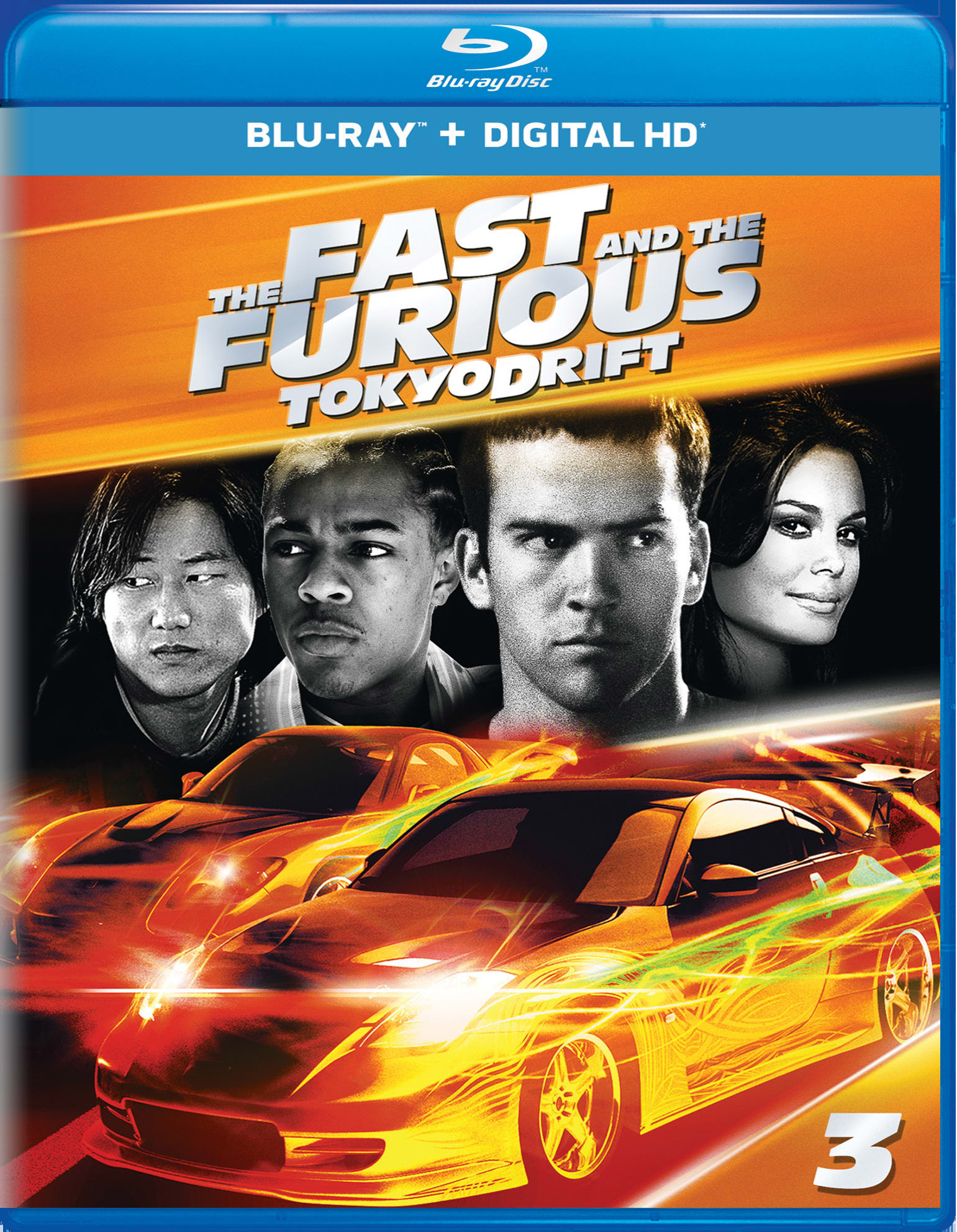 The Fast and the Furious: Tokyo Drift (Digital) [Blu-ray]