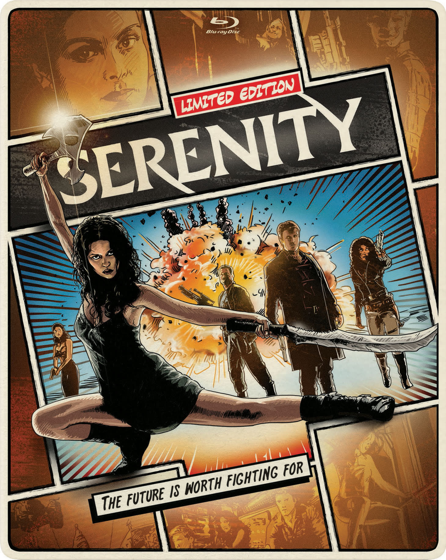 Serenity (Limited Edition Steelbook) [Blu-ray]