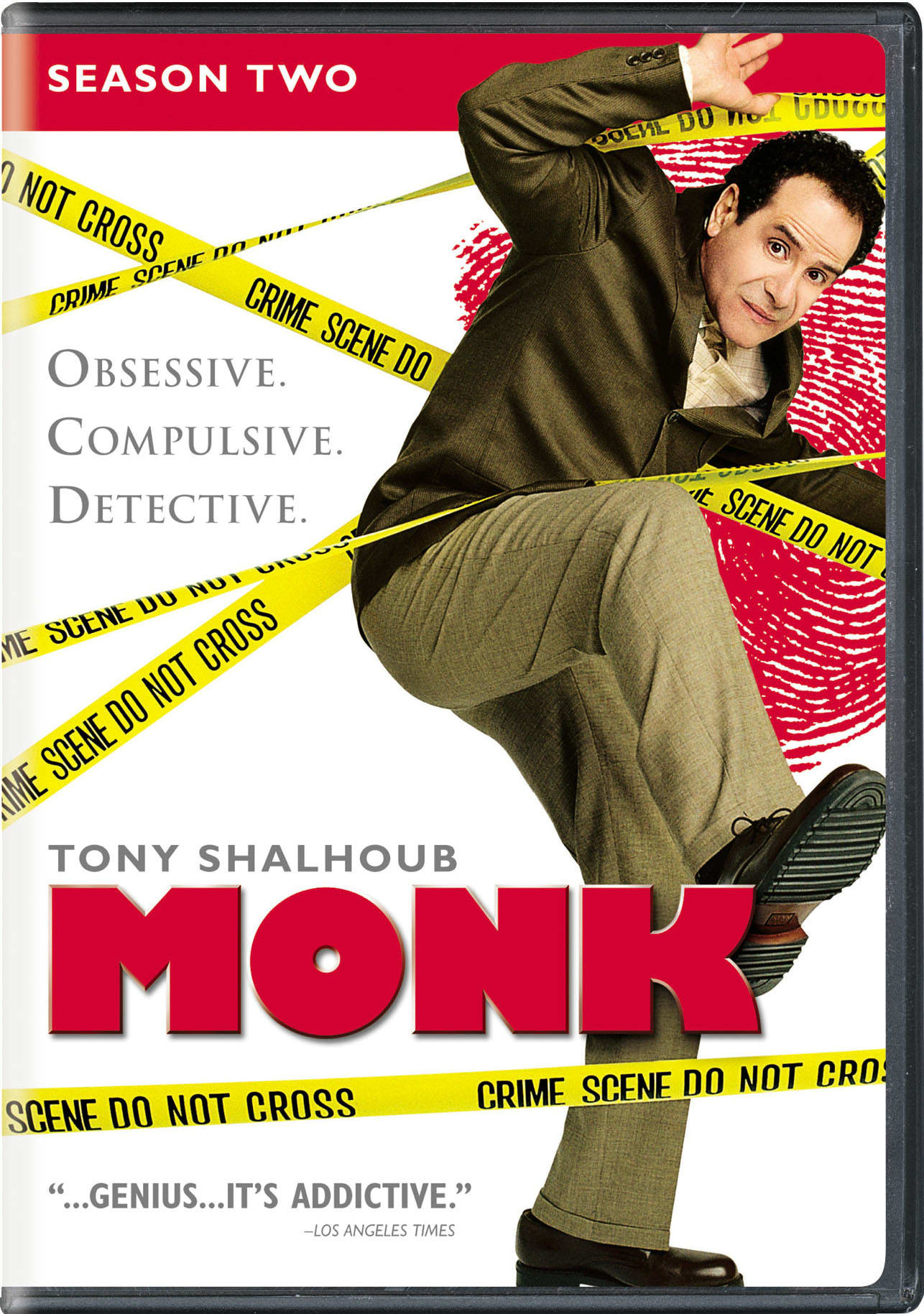 Monk: Season 2 [DVD]