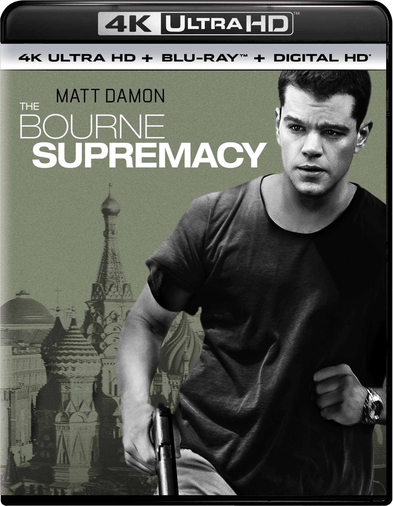 The Bourne Supremacy (4K Ultra HD) [UHD]