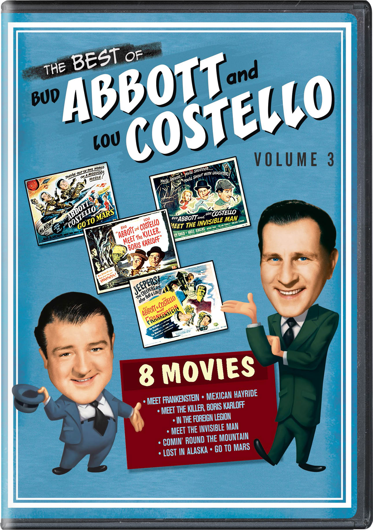 The Best of Bud Abbott and Lou Costello: Volume 3 [DVD]