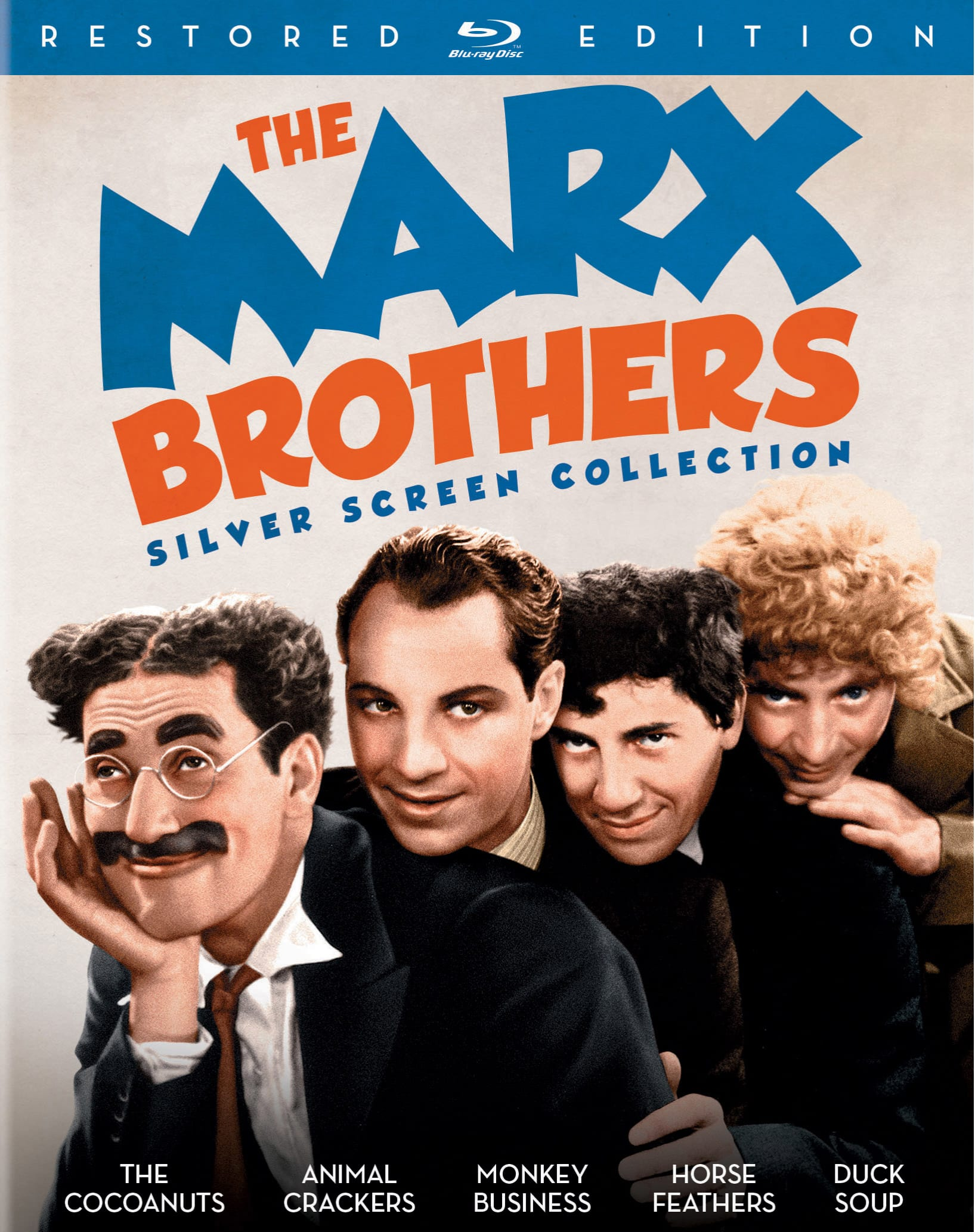 The Marx Brothers Silver Screen Collection (Restored) [Blu-ray]