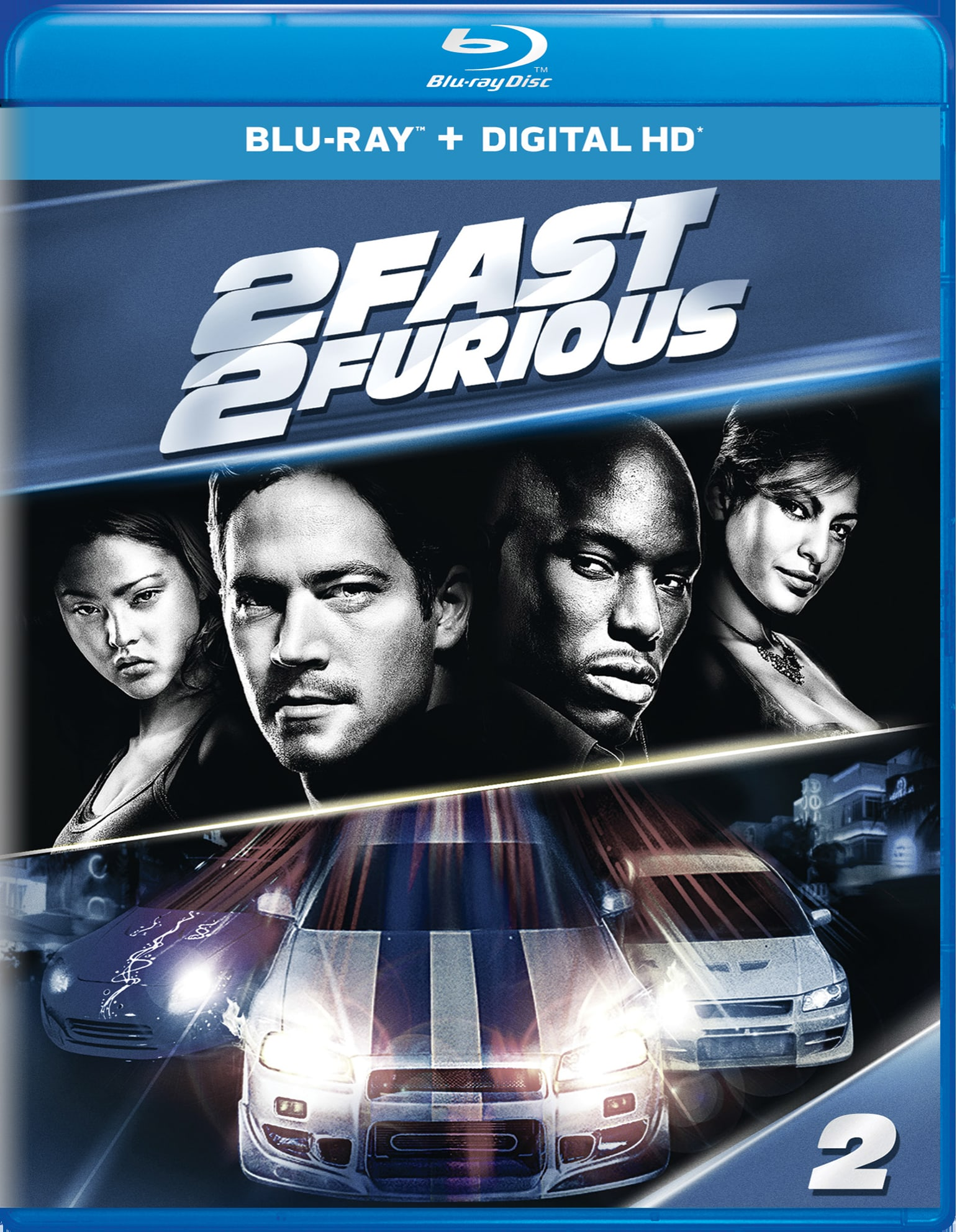 2 Fast 2 Furious (Digital) [Blu-ray]