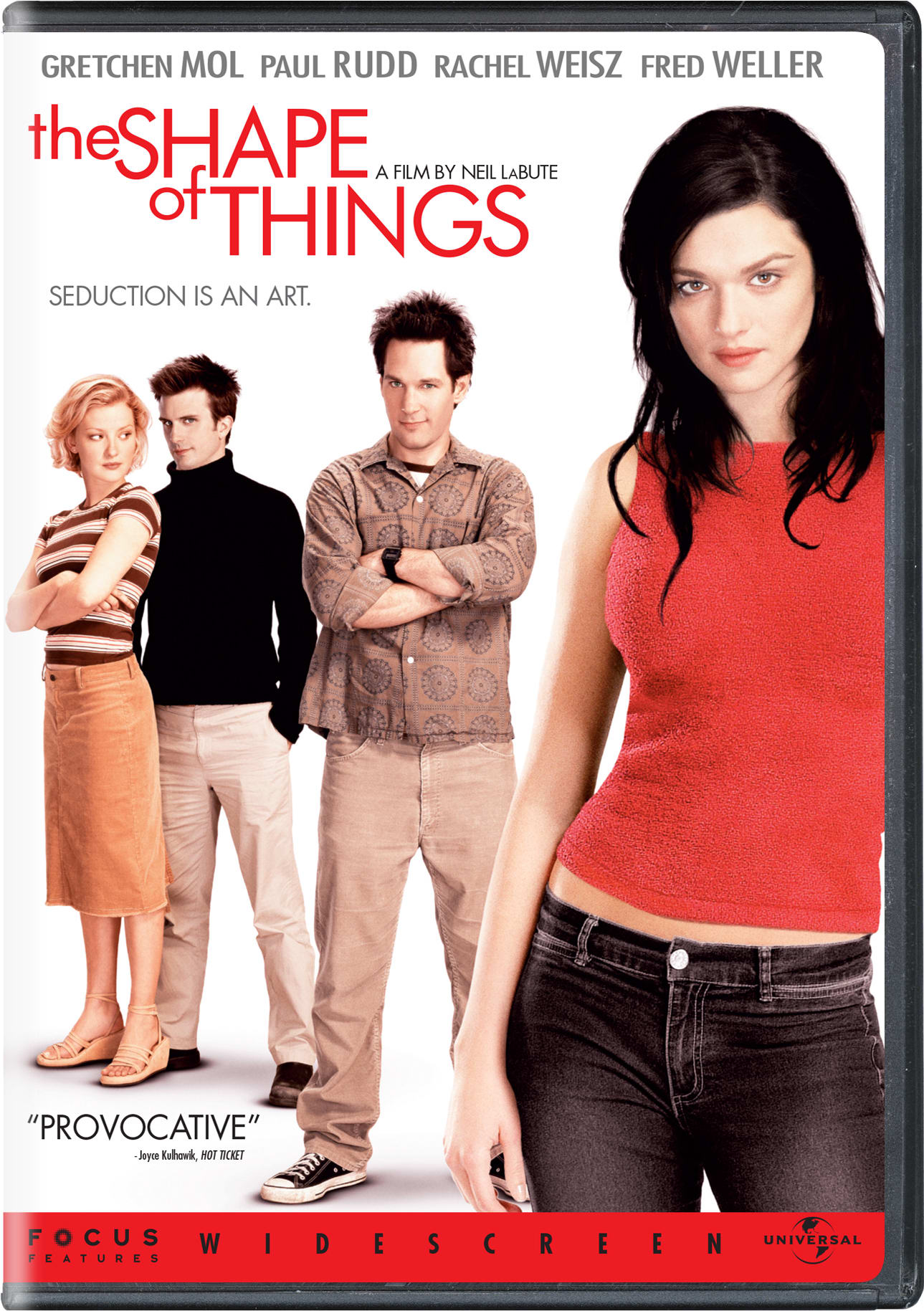 The Shape of Things [DVD]