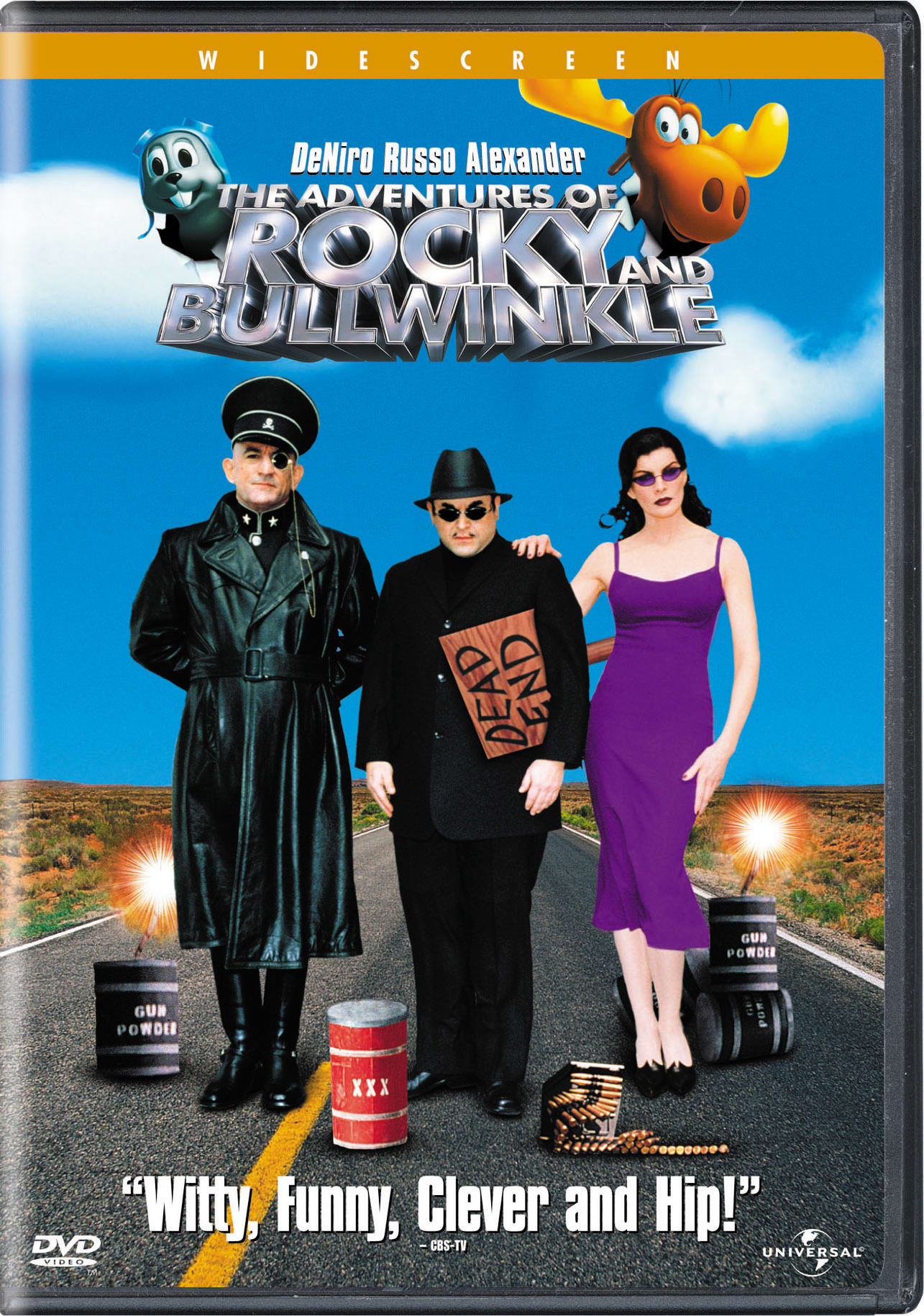 The Adventures of Rocky and Bullwinkle (2001) (Widescreen) [DVD]