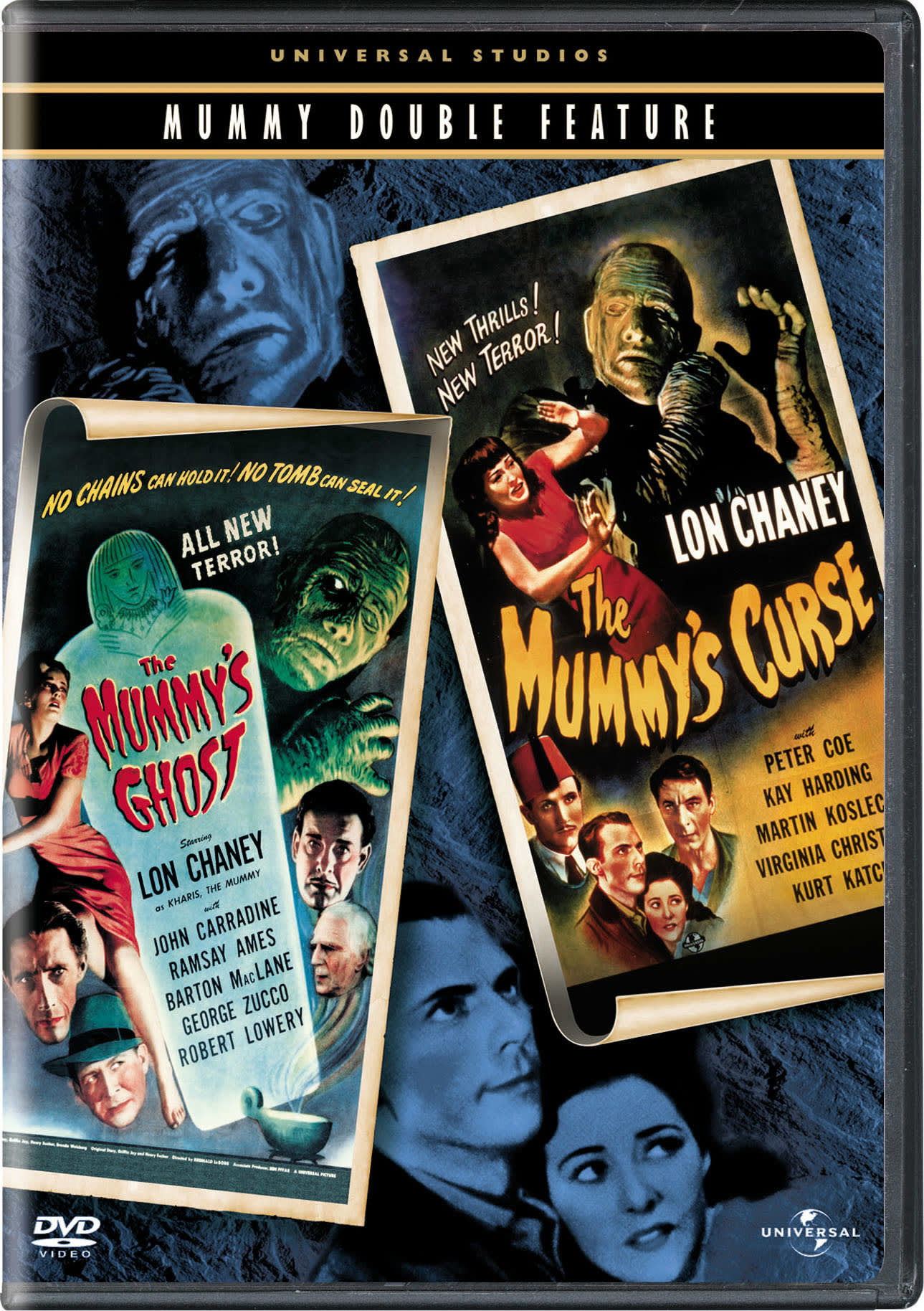 The Mummy's Ghost/The Mummy's Curse [DVD]