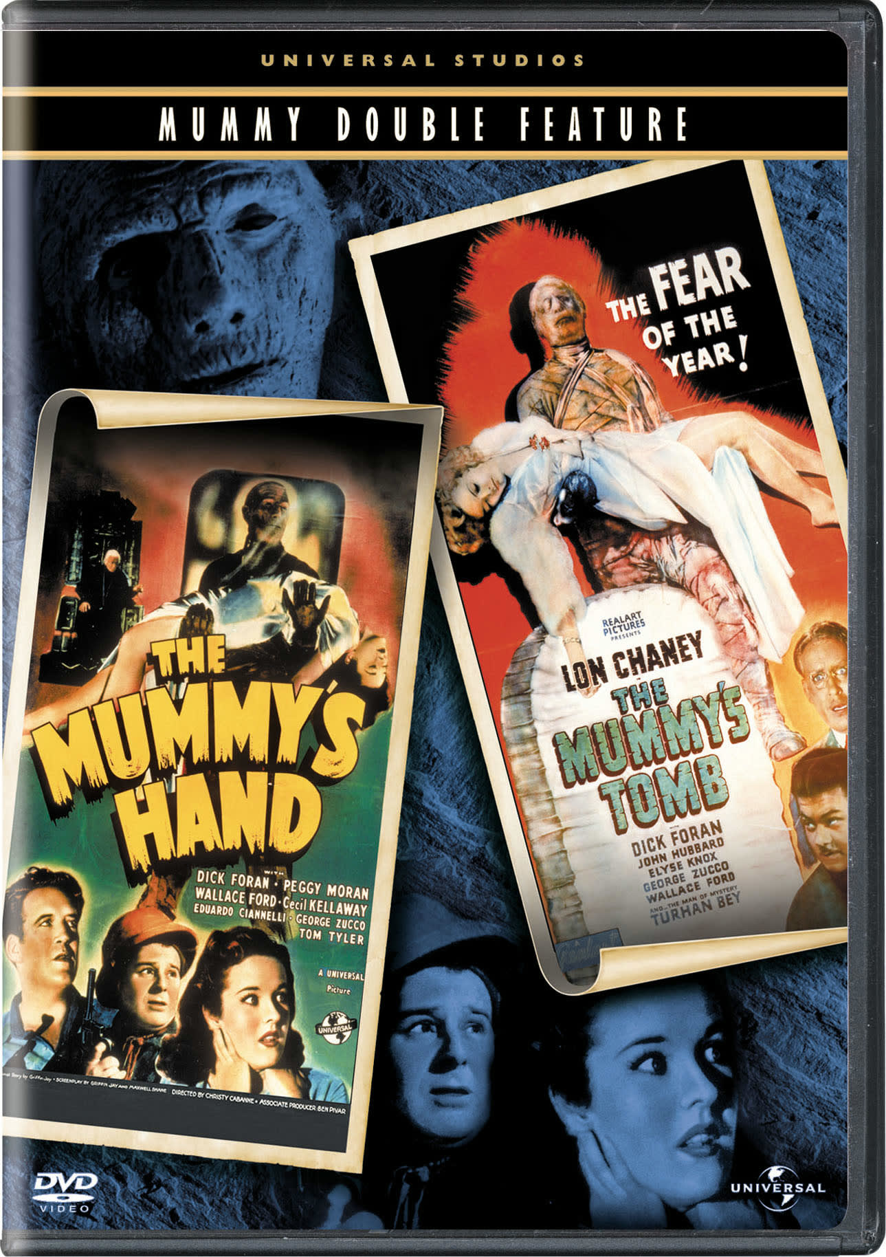 The Mummy's Hand/The Mummy's Tomb [DVD]