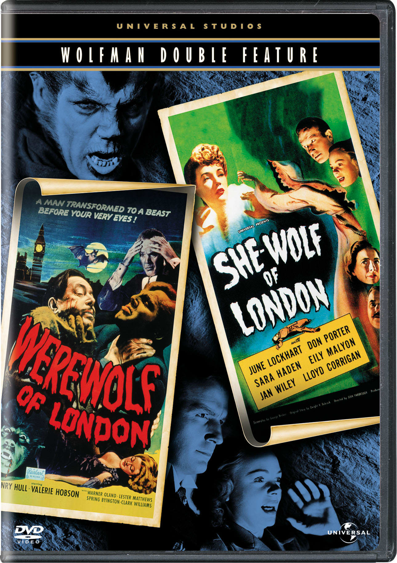 Werewolf of London/She-Wolf of London [DVD]