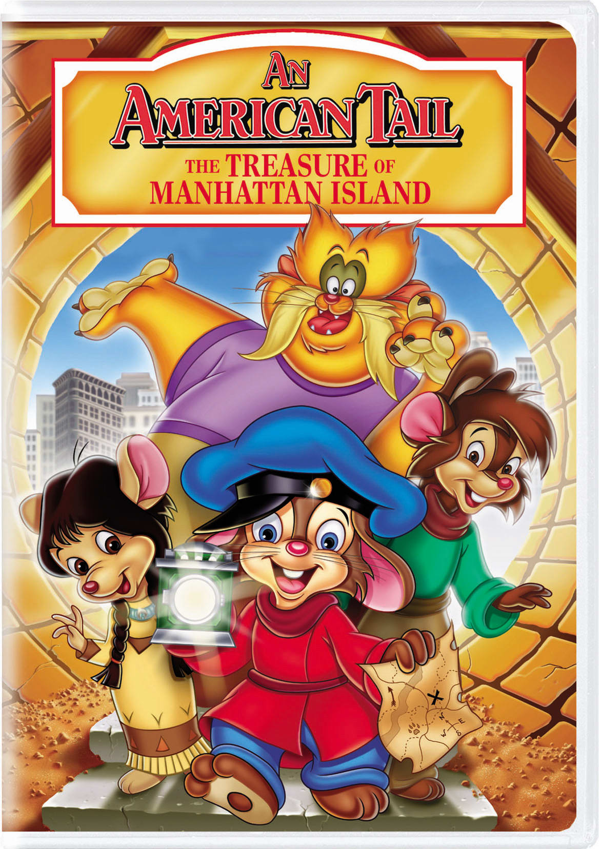 An American Tail 3 - The Treasure of Manhattan Island [DVD]