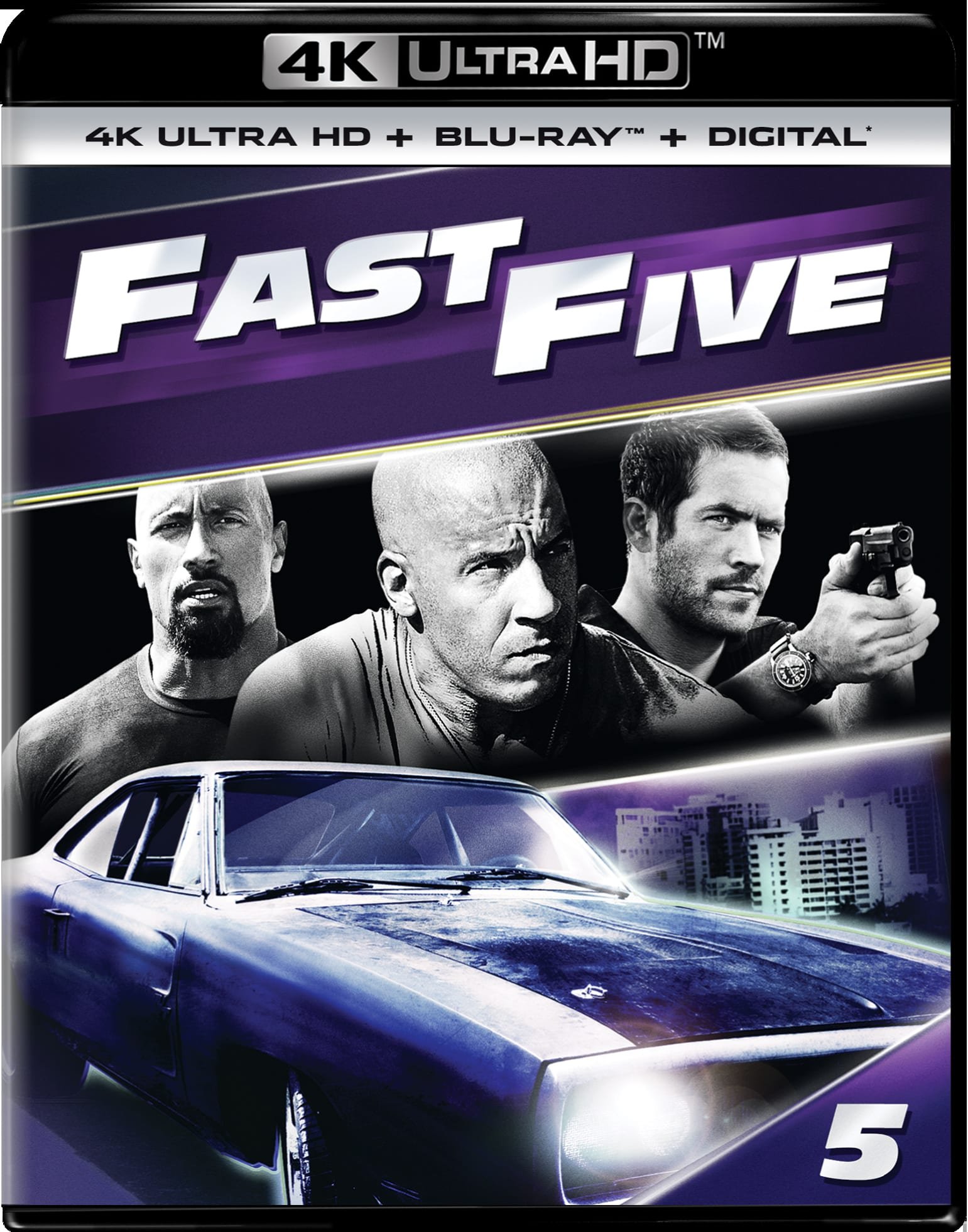 Fast & Furious 5 (4K Ultra HD) [UHD]