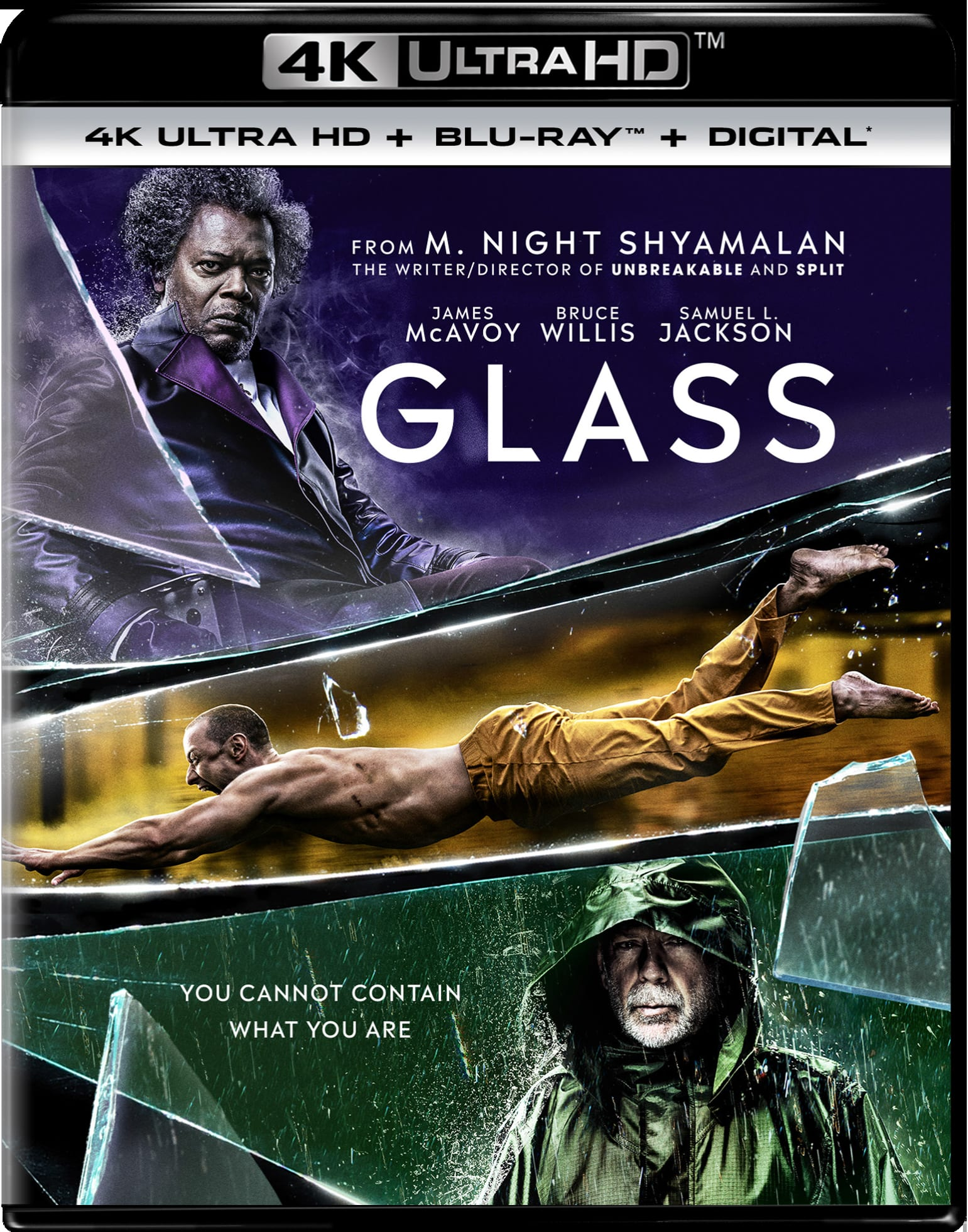 Glass (4K Ultra HD) [UHD]