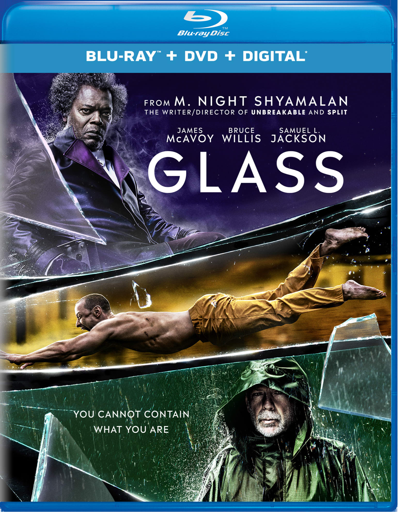 Glass (DVD + Digital) [Blu-ray]
