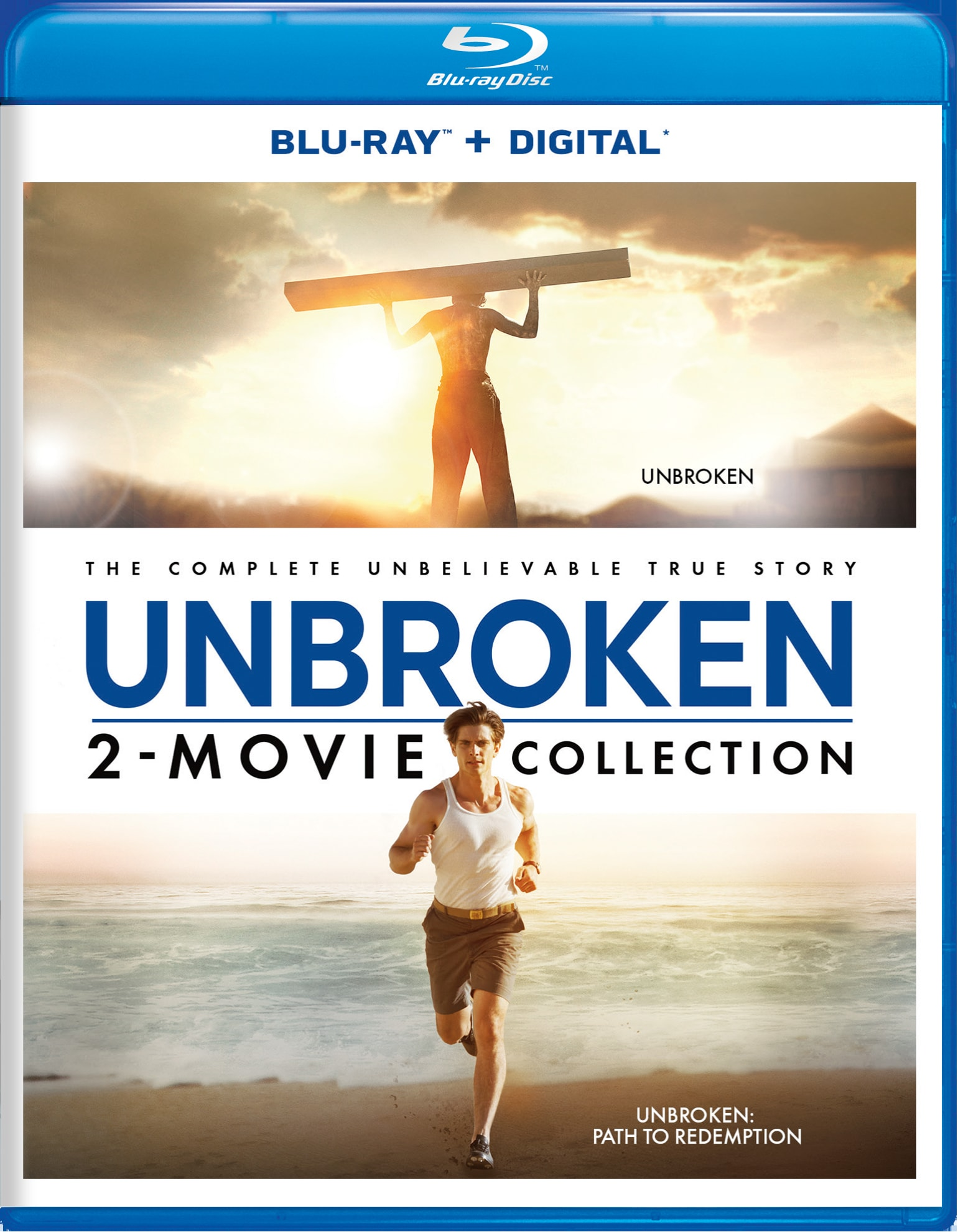 Unbroken/Unbroken - Path to Redemption [Blu-ray]