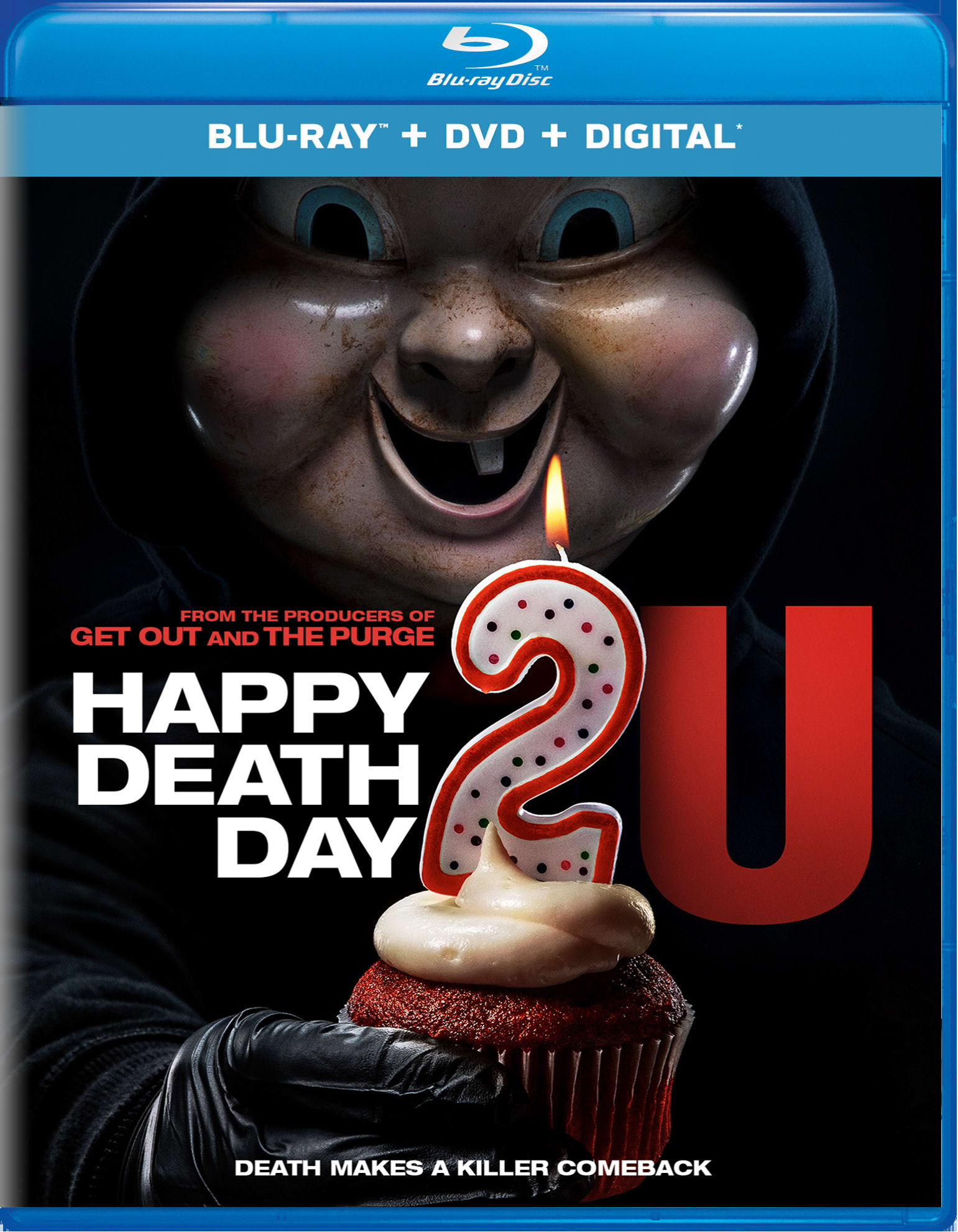 Happy Death Day 2u (DVD + Digital) [Blu-ray]