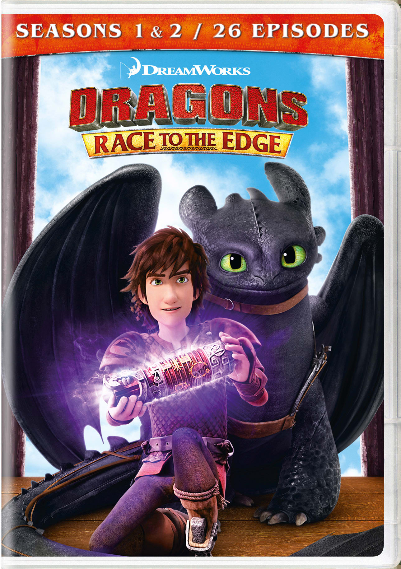 Dragons: Race to the Edge - Seasons 1 & 2 [DVD]