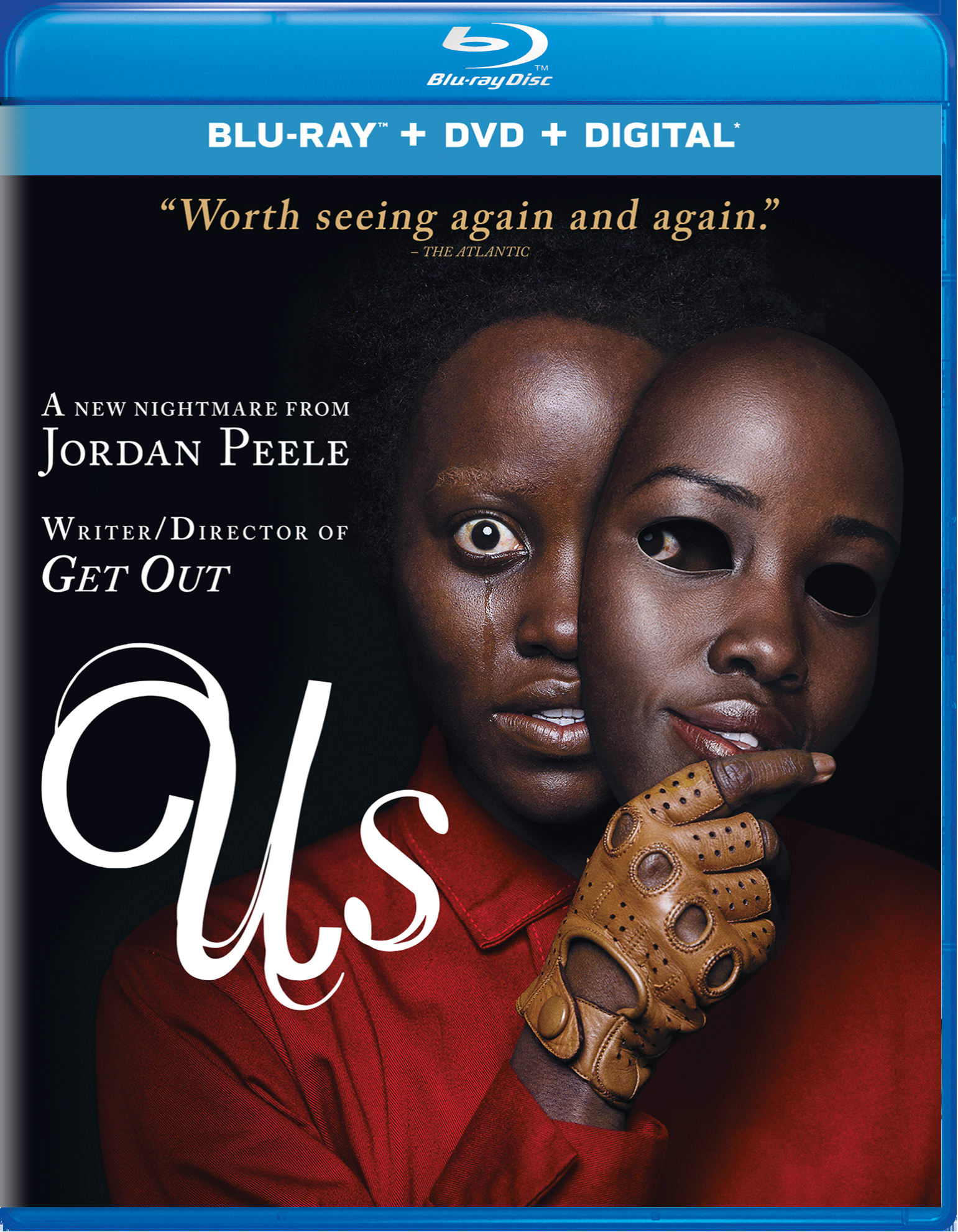 Us (DVD + Digital) [Blu-ray]