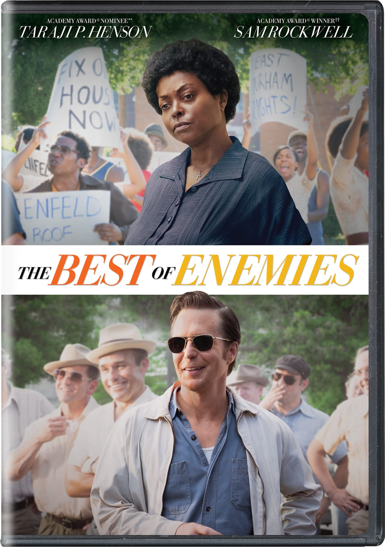 The Best of Enemies [DVD]