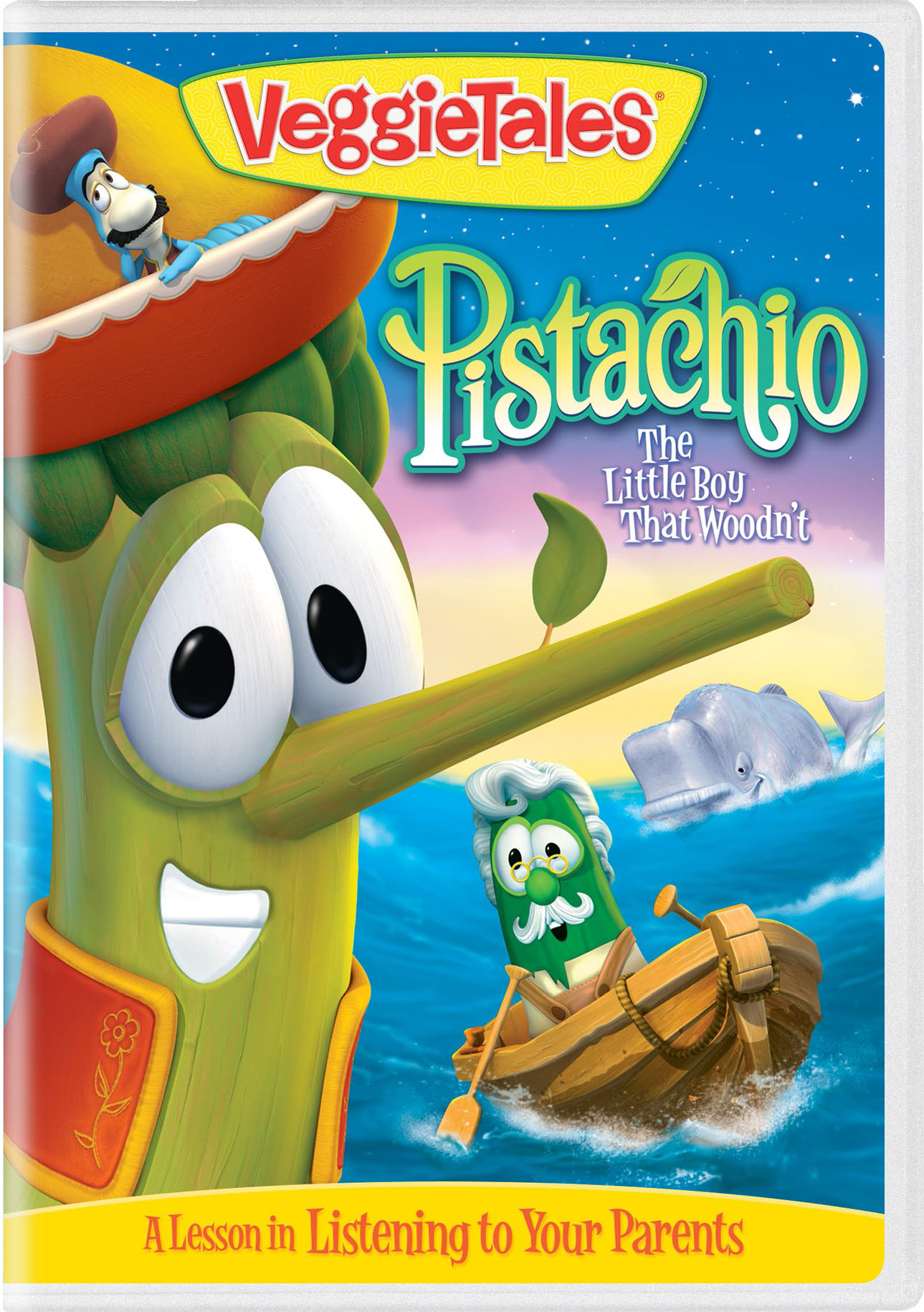 VeggieTales: Pistachio - The Little Boy That Woodn't [DVD]