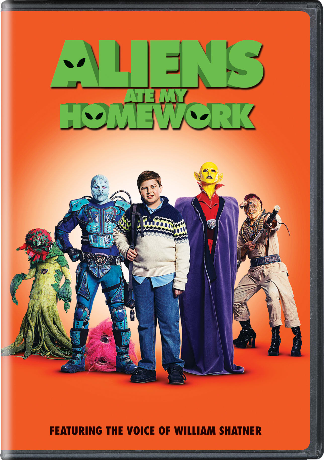 Aliens Ate My Homework [DVD]